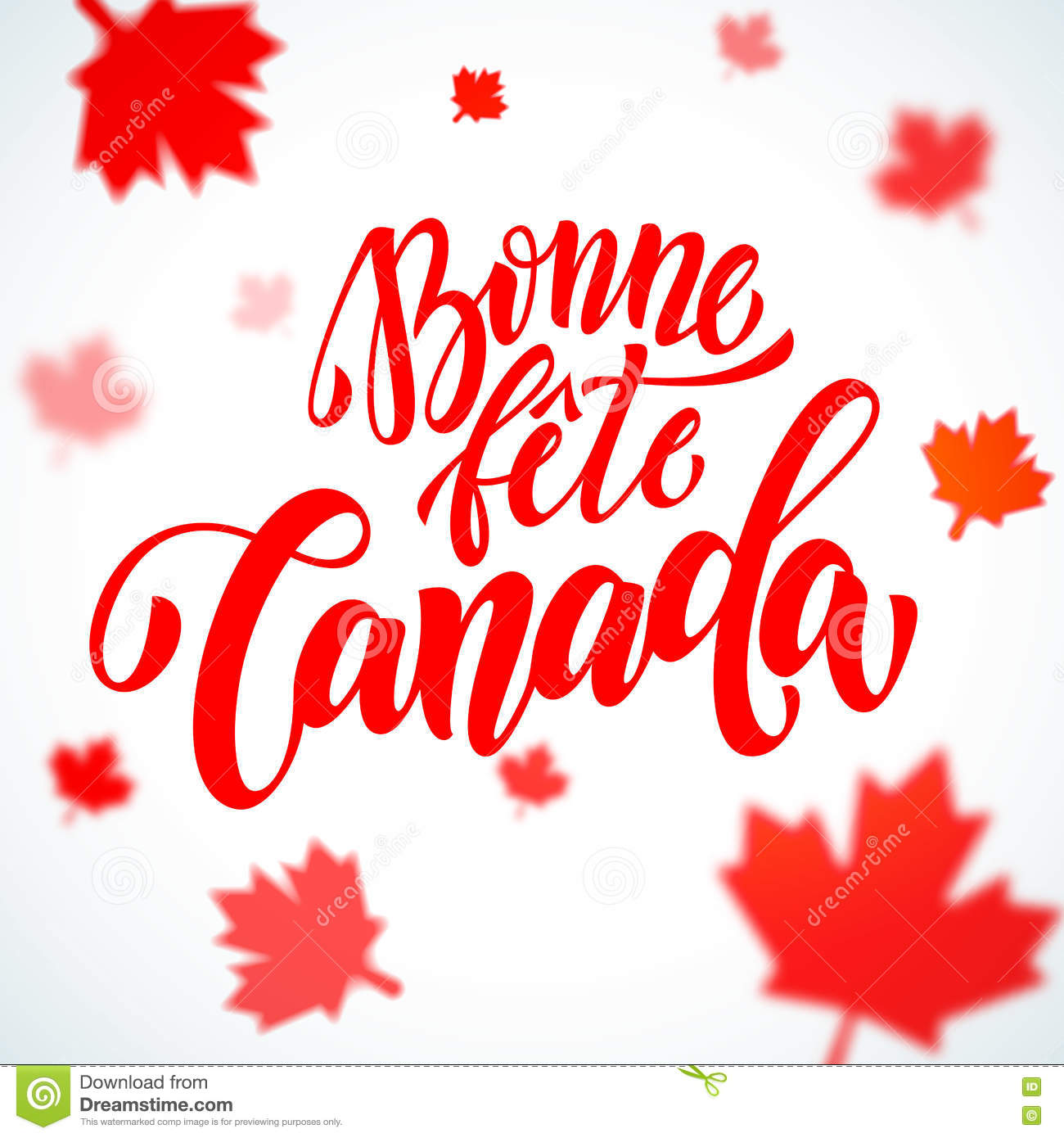 Bonne fete canada day greeting card in french stock illustration download bonne fete canada day greeting card in french stock illustration illustration of july m4hsunfo