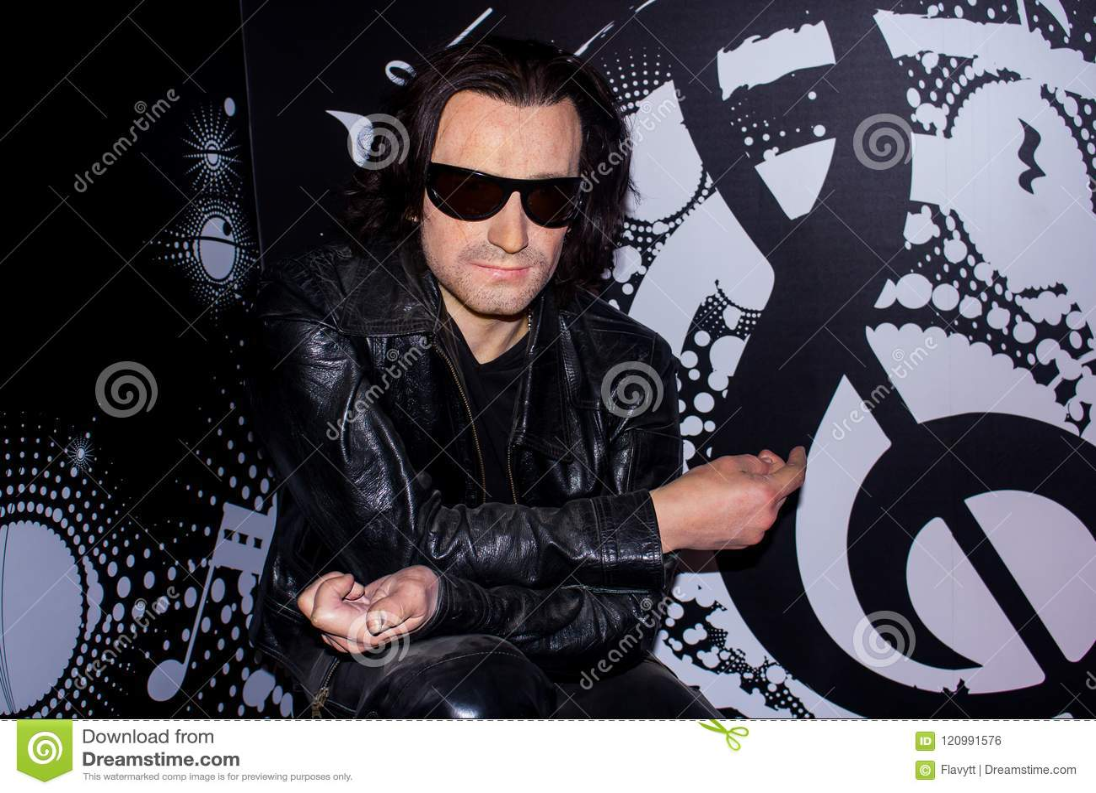 Bono, Wachsfigur