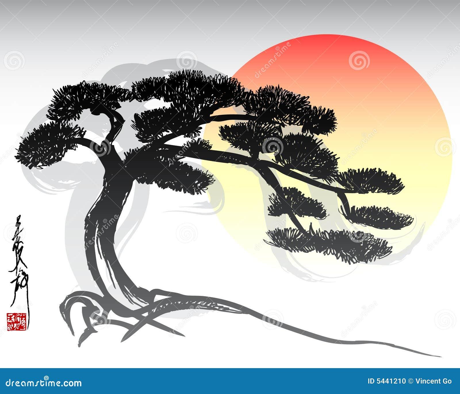 Bonsai Stock Illustrations – 2,366 Bonsai Stock Illustrations ...