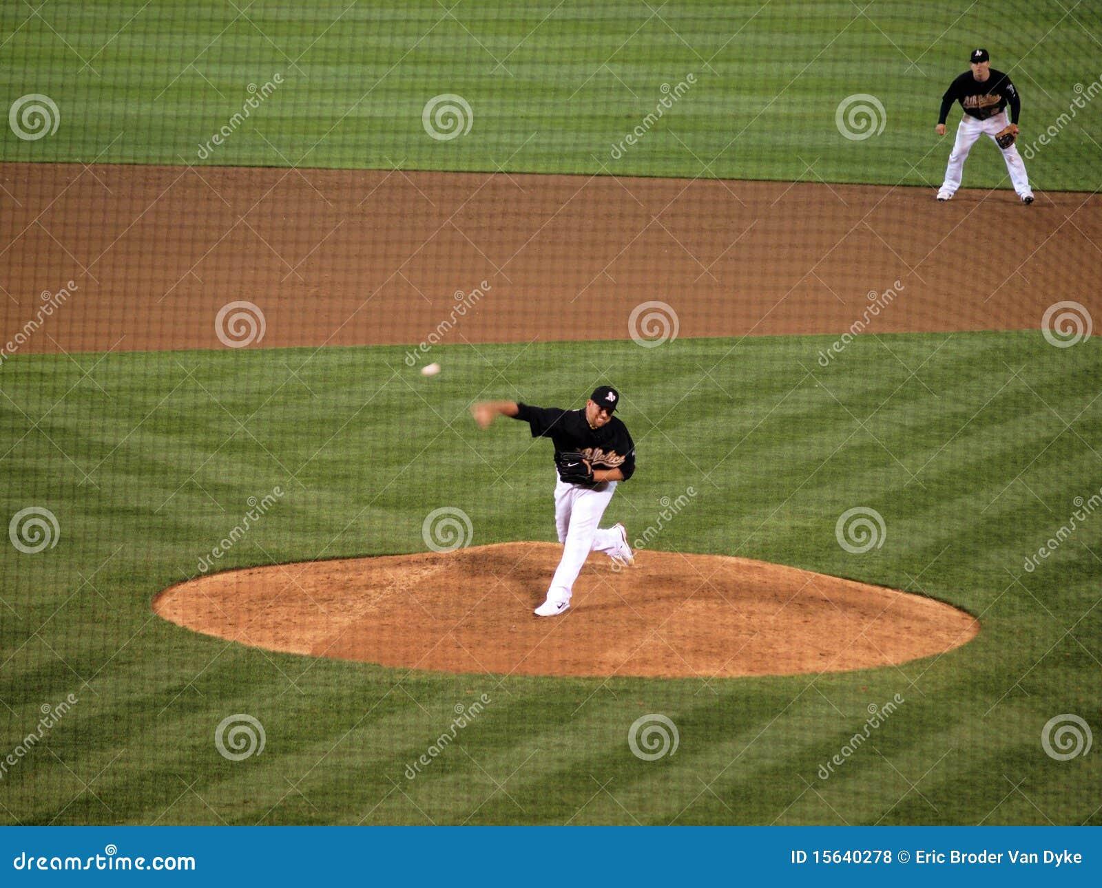 Bonser boof szybkiej piłki inningu opóźneni rzuty