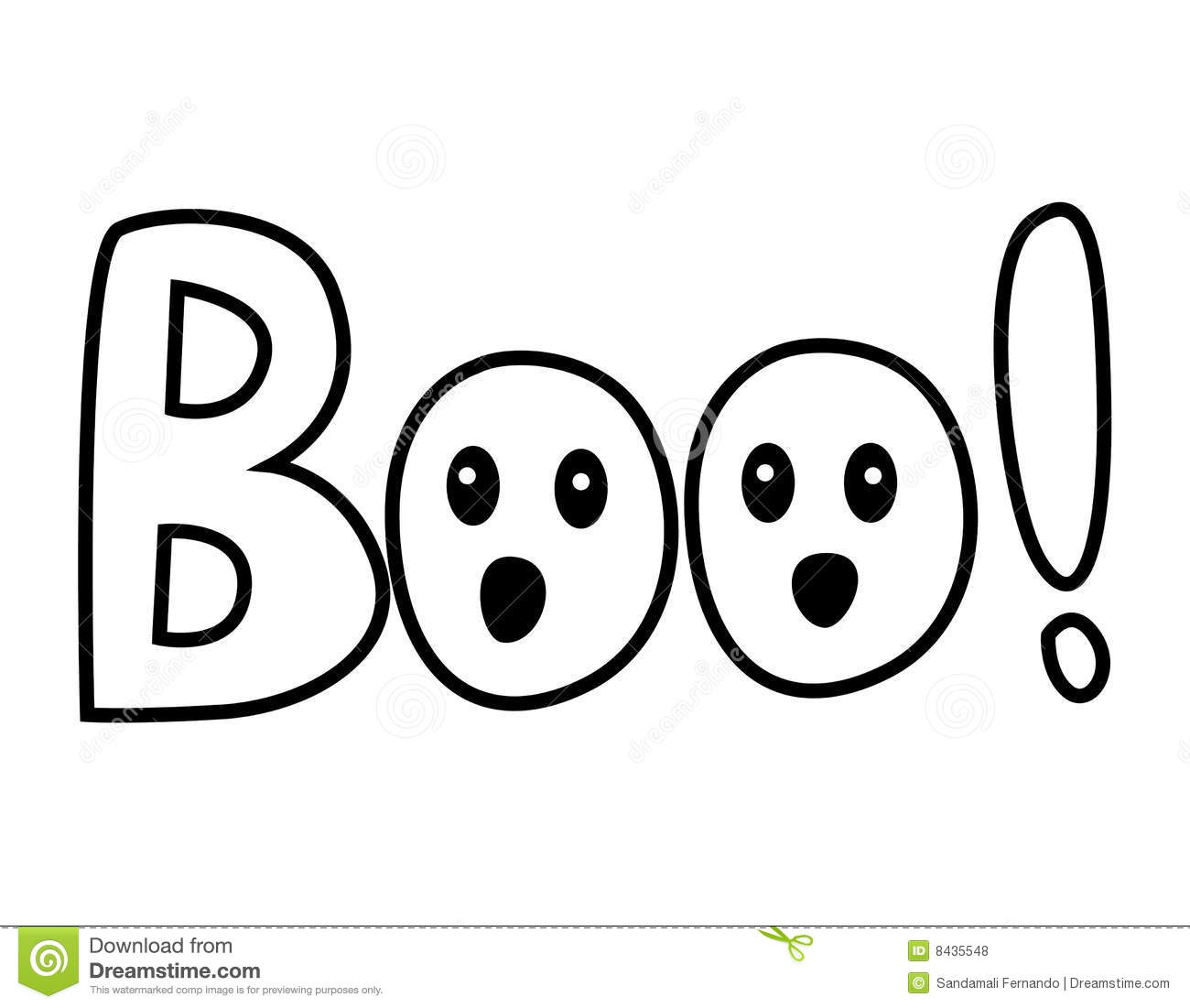Boo Royalty Free Stock Photos Image 8435548