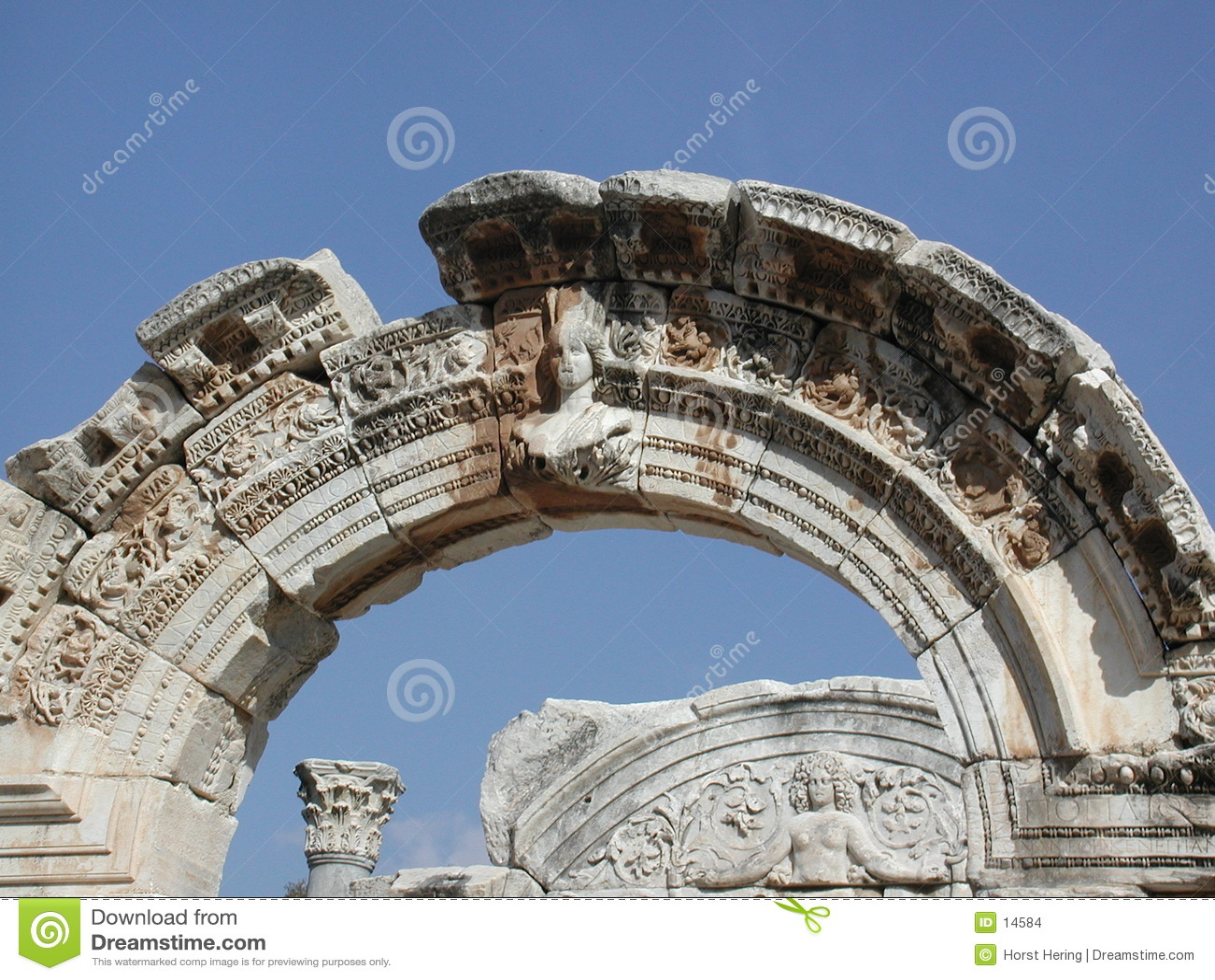 Boog in Ephesus