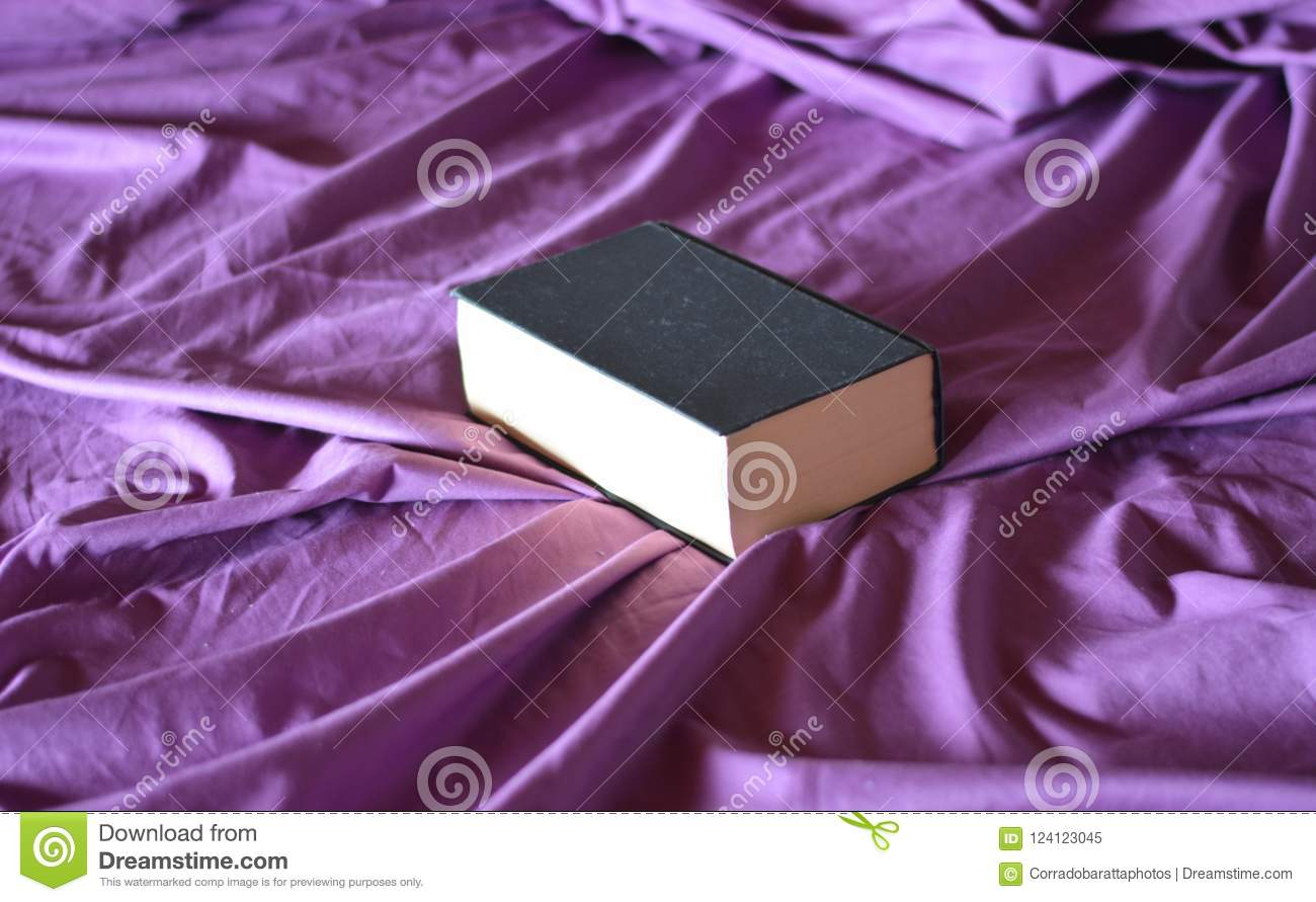 Download A Book And A Bed Stock Image. Image Of High, Books, Institute