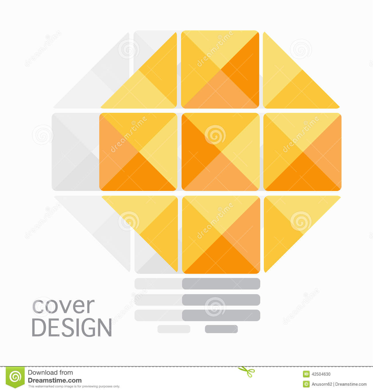 Book Cover Annual Report Pencil Design Stock Illustration - Image ...