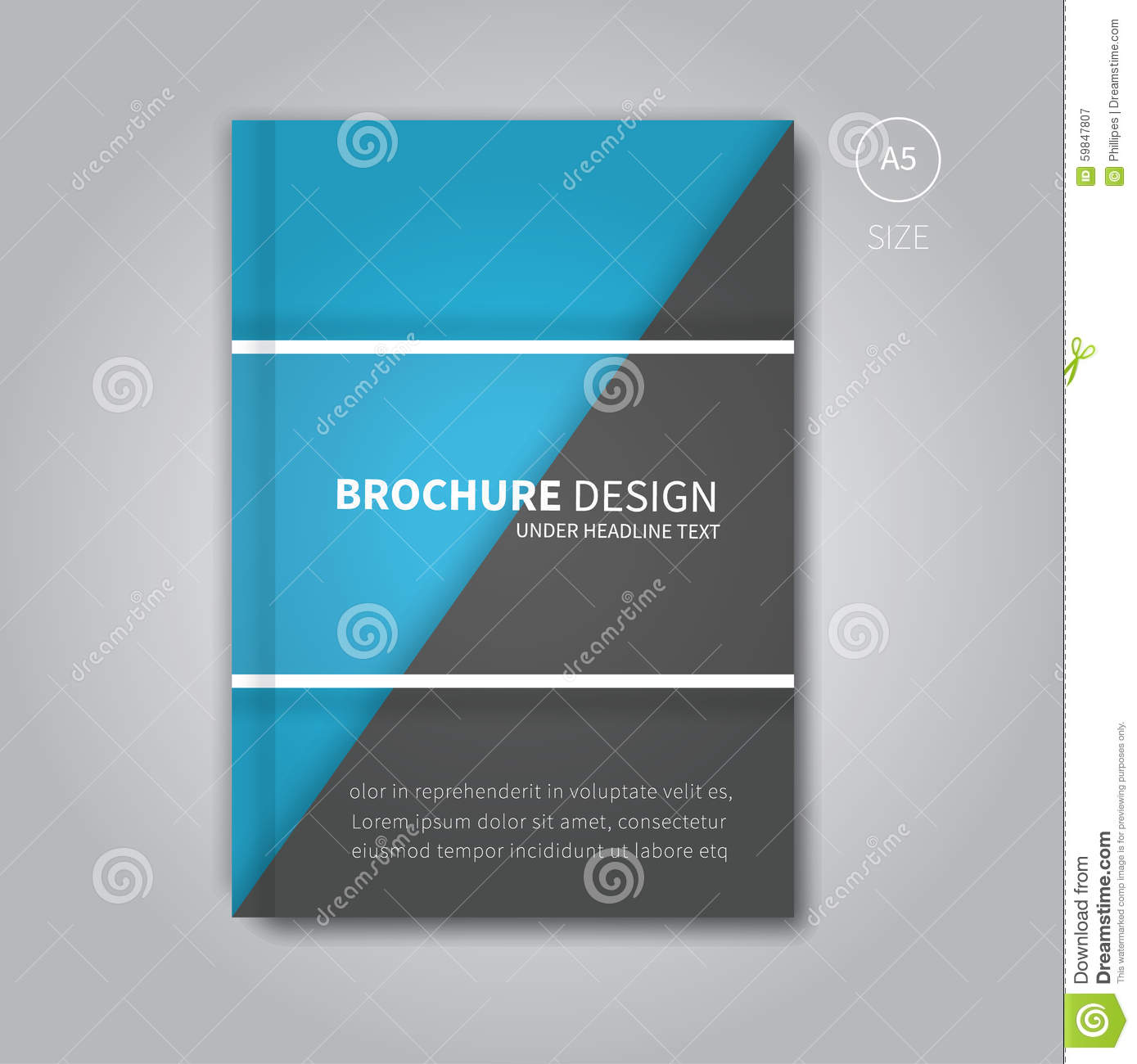 Book Cover Design Vector Download : Cover book digital design tablet concept template vector