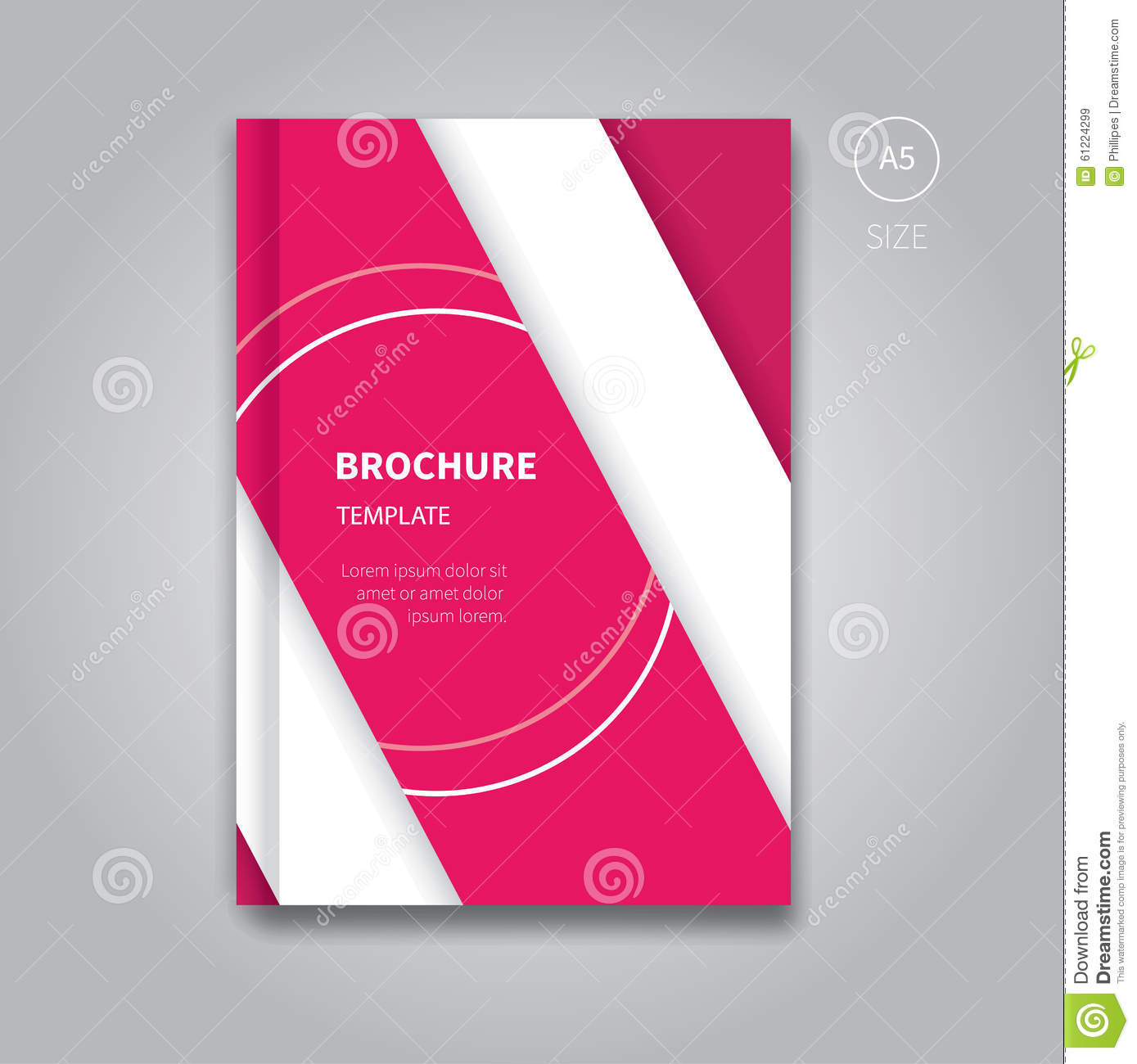Book Cover Design Template Ks : Cover book digital design tablet concept template vector