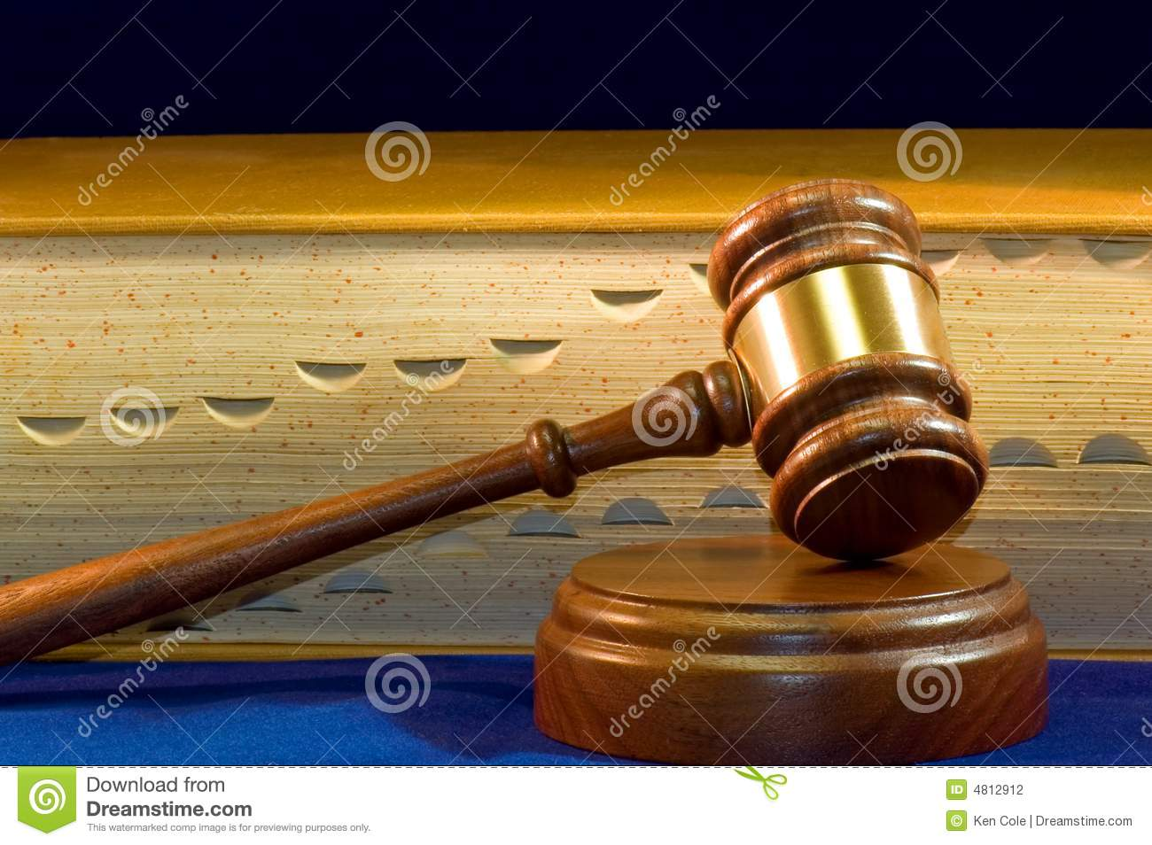 Book front gavel law