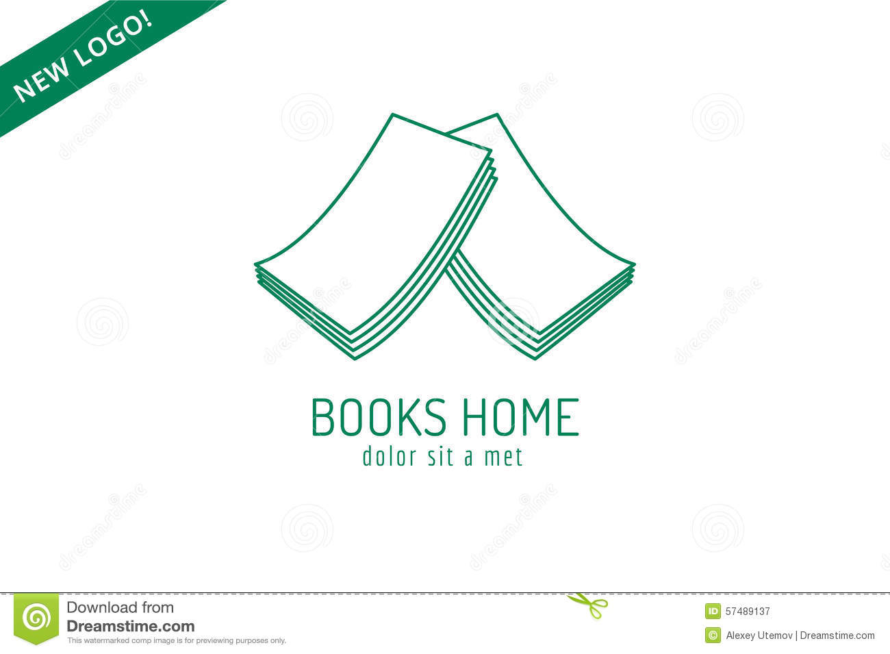 Superb Book House Roof Template Logo Icon. Back To School Royalty Free Stock  Photography Sc 1 St Memphite.com