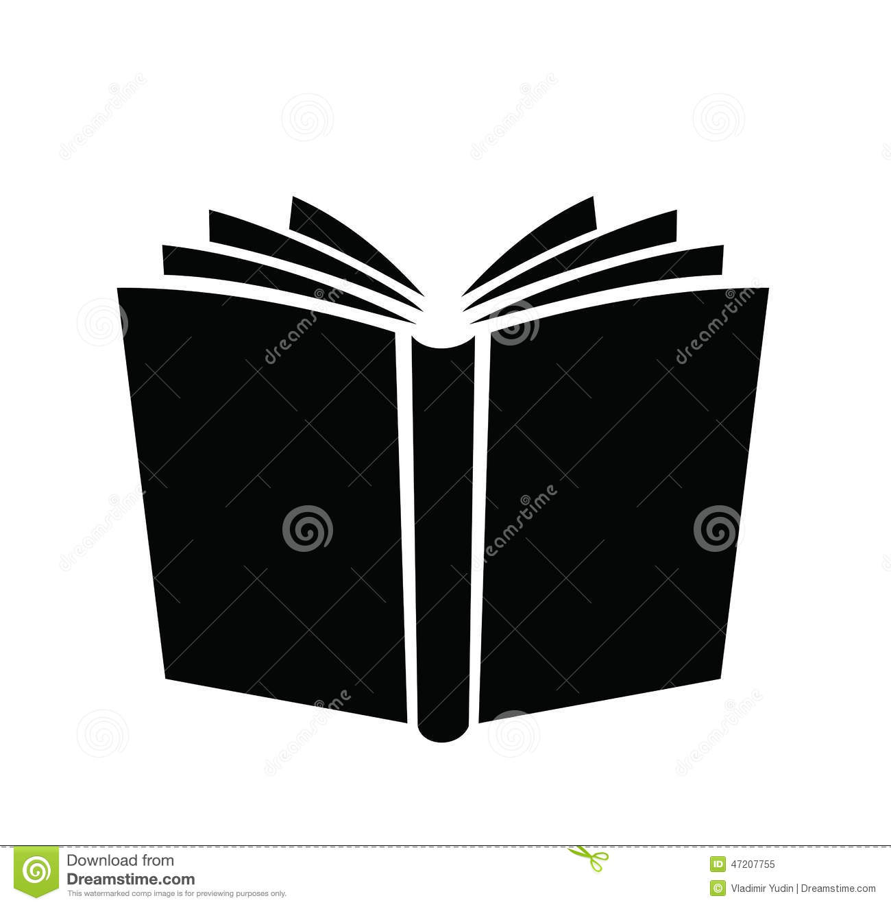 Book Icon Stock Vector Illustration Of Knowledge Cover