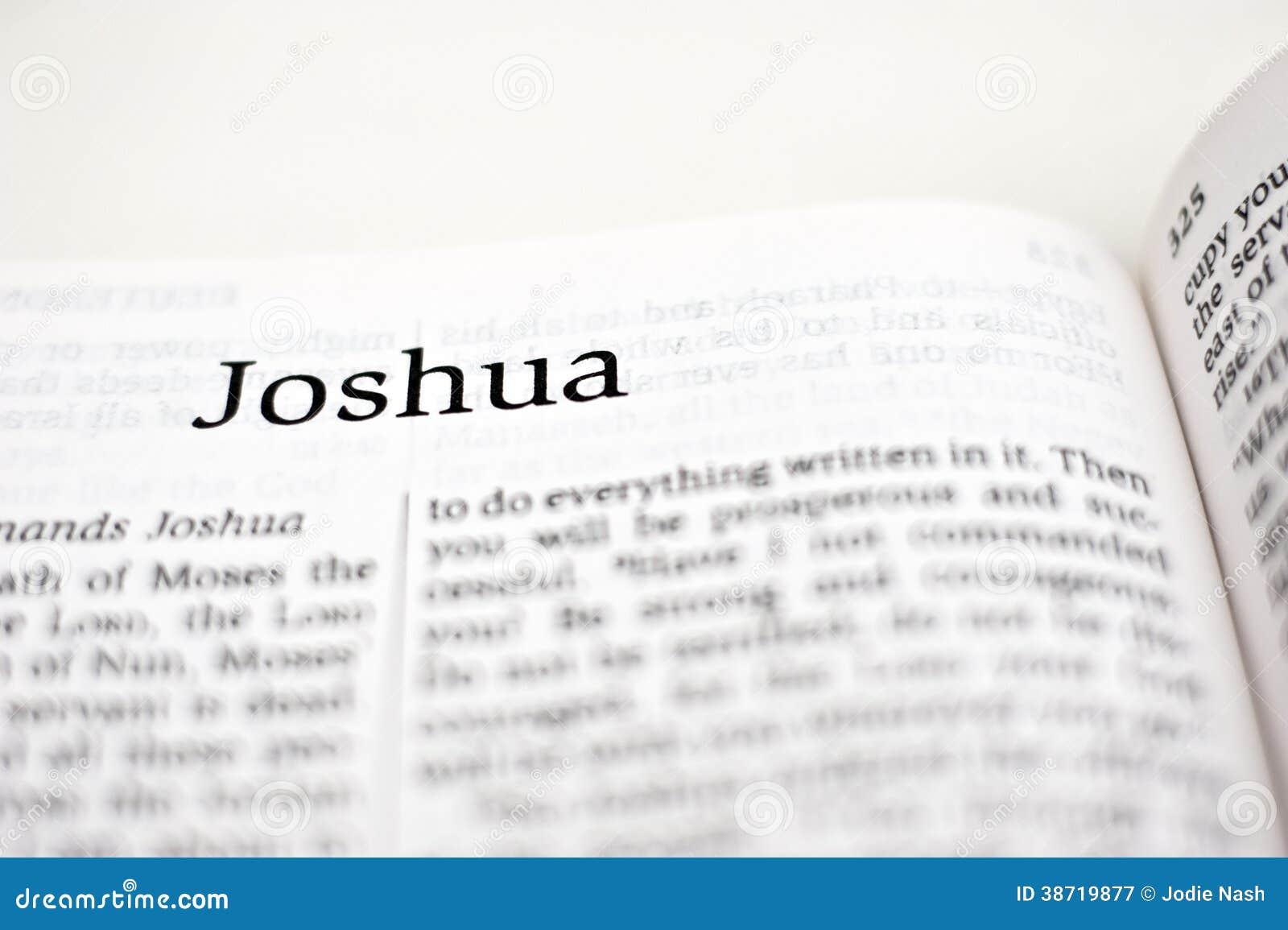 Book of Joshua stock image  Image of poet, praying