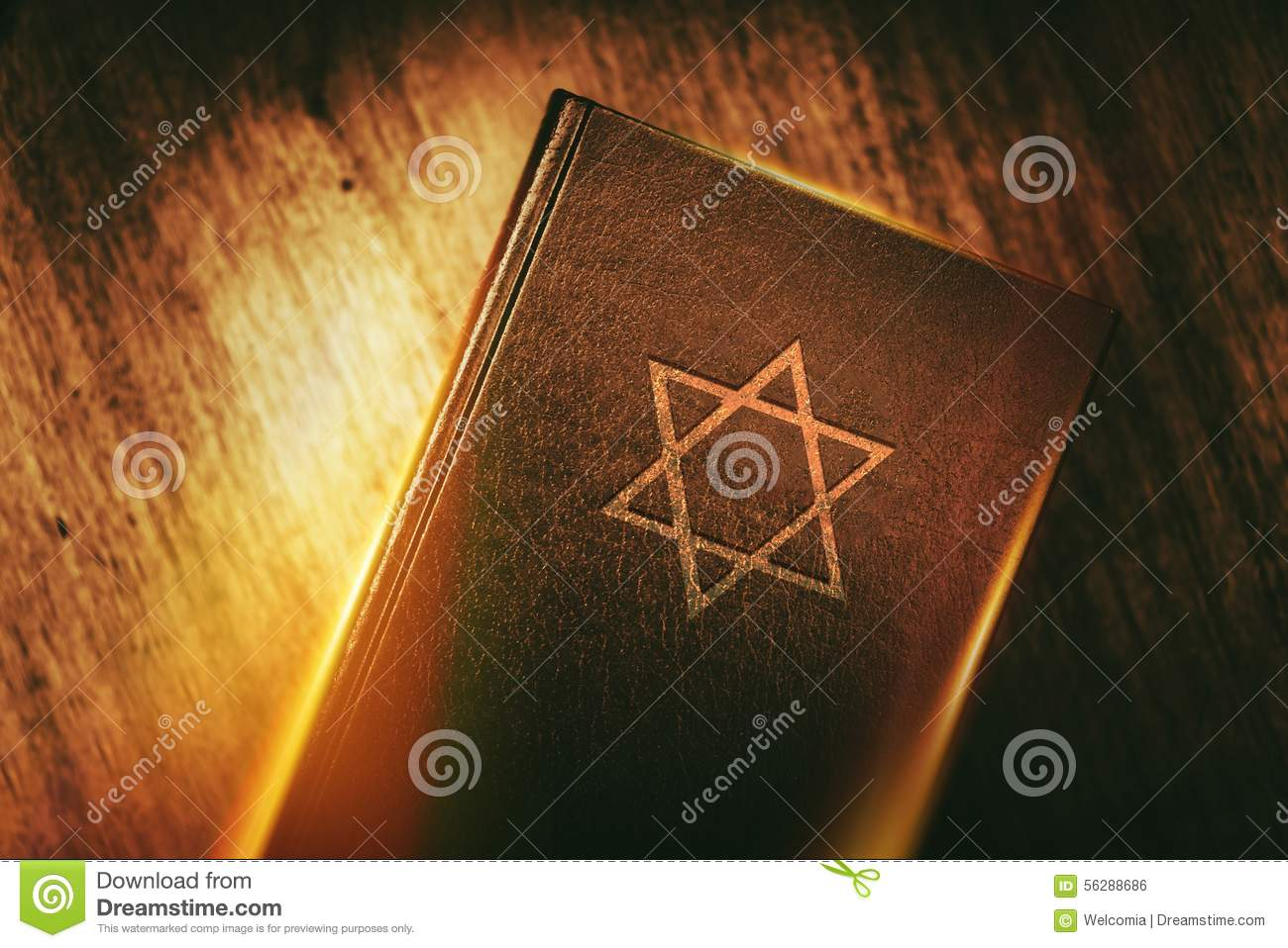 Vintage Leather Look Jeremiah Verse Bible Book Cover Large: The Book Of Judaism Stock Photo. Image Of Torah, Praying