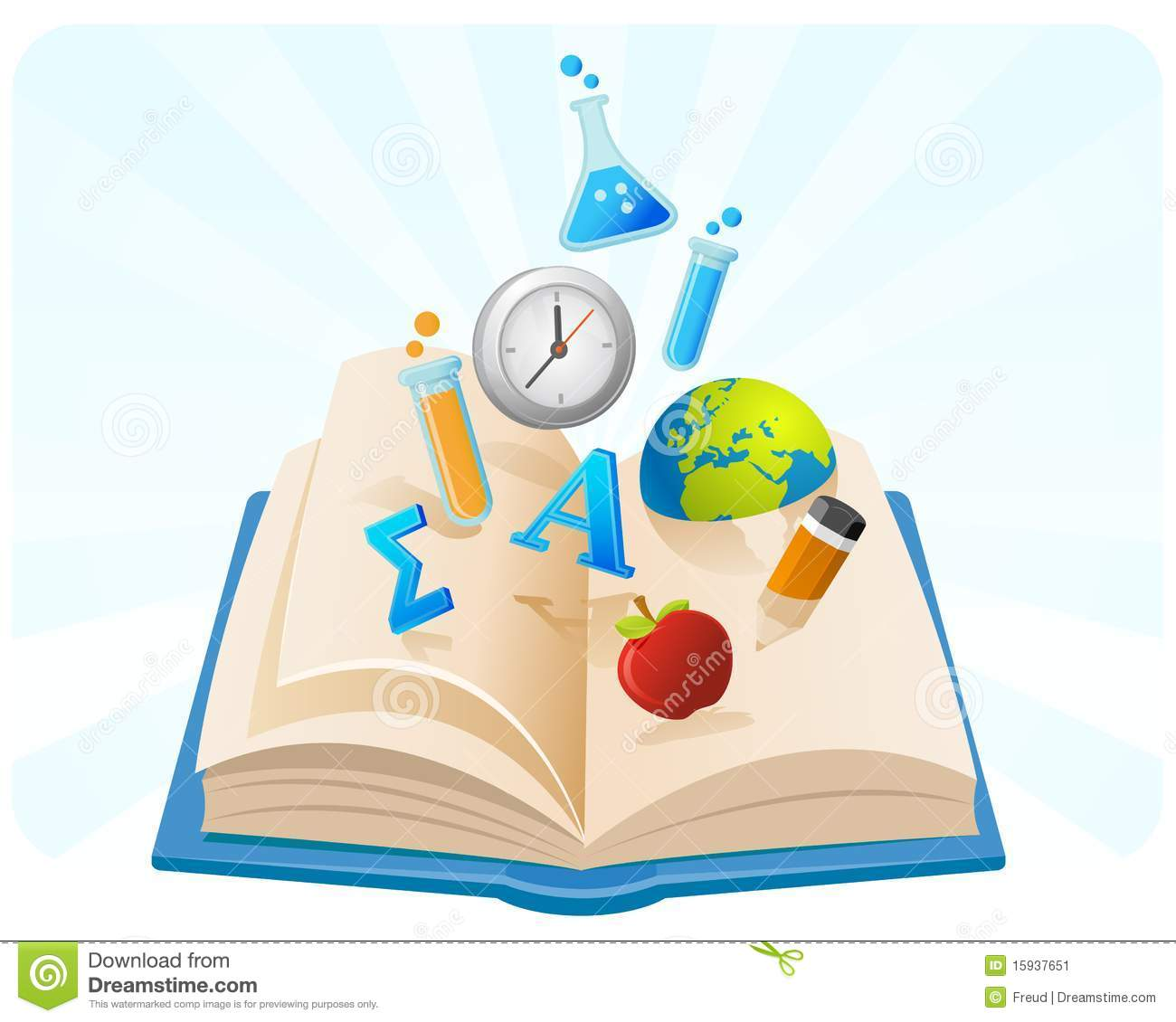 Book Of Knowledge Stock Image