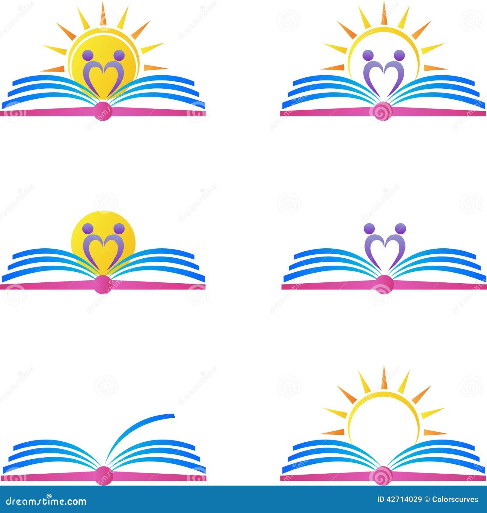 Book logos stock vector image 42714029 - Royalty Free Vector Book Design Logos