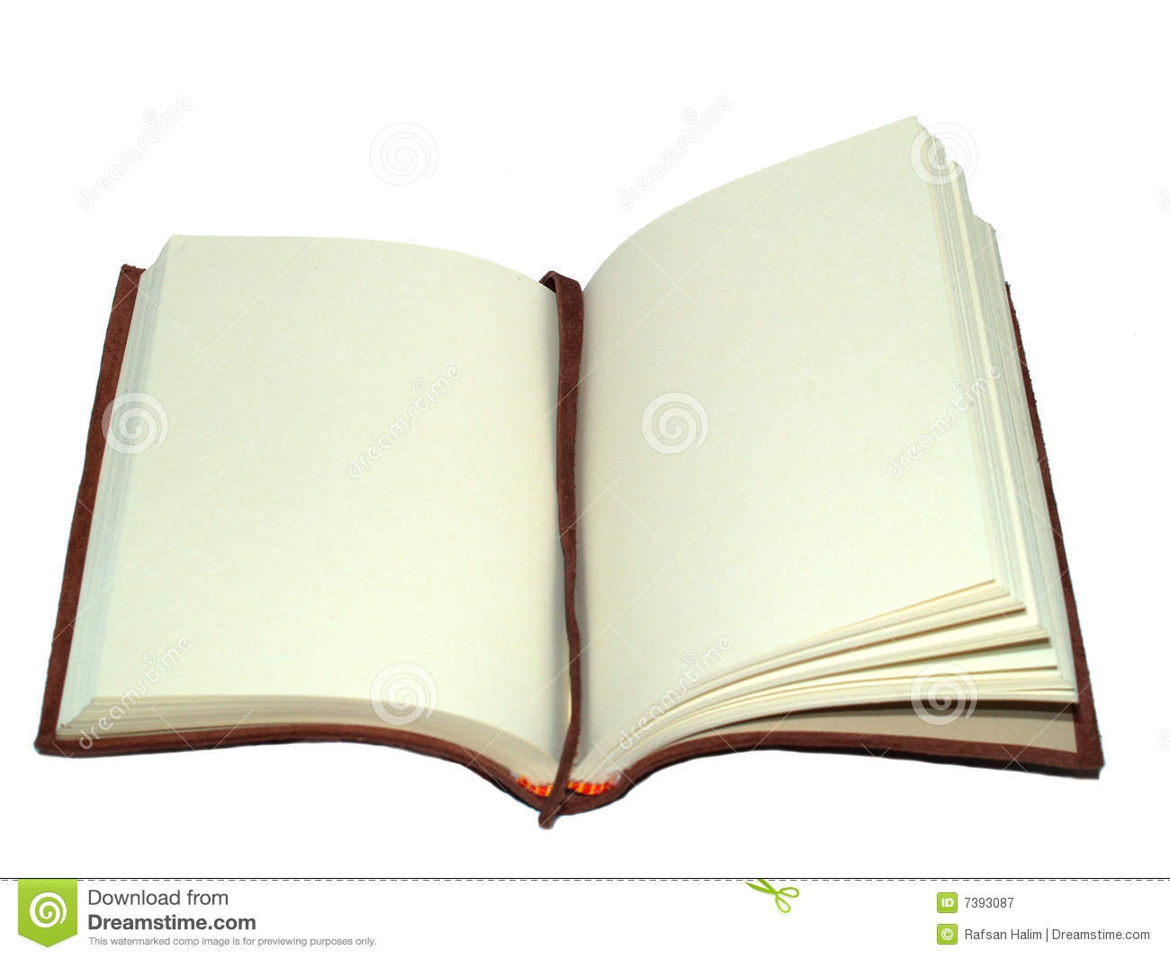book on an open page royalty free stock photography