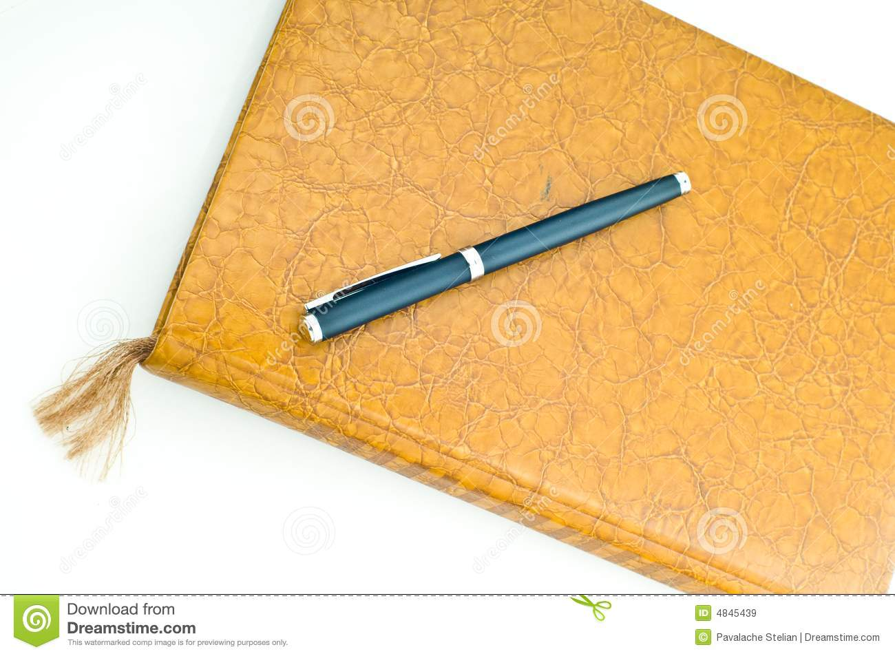 Book And Pen Royalty Free Stock Images