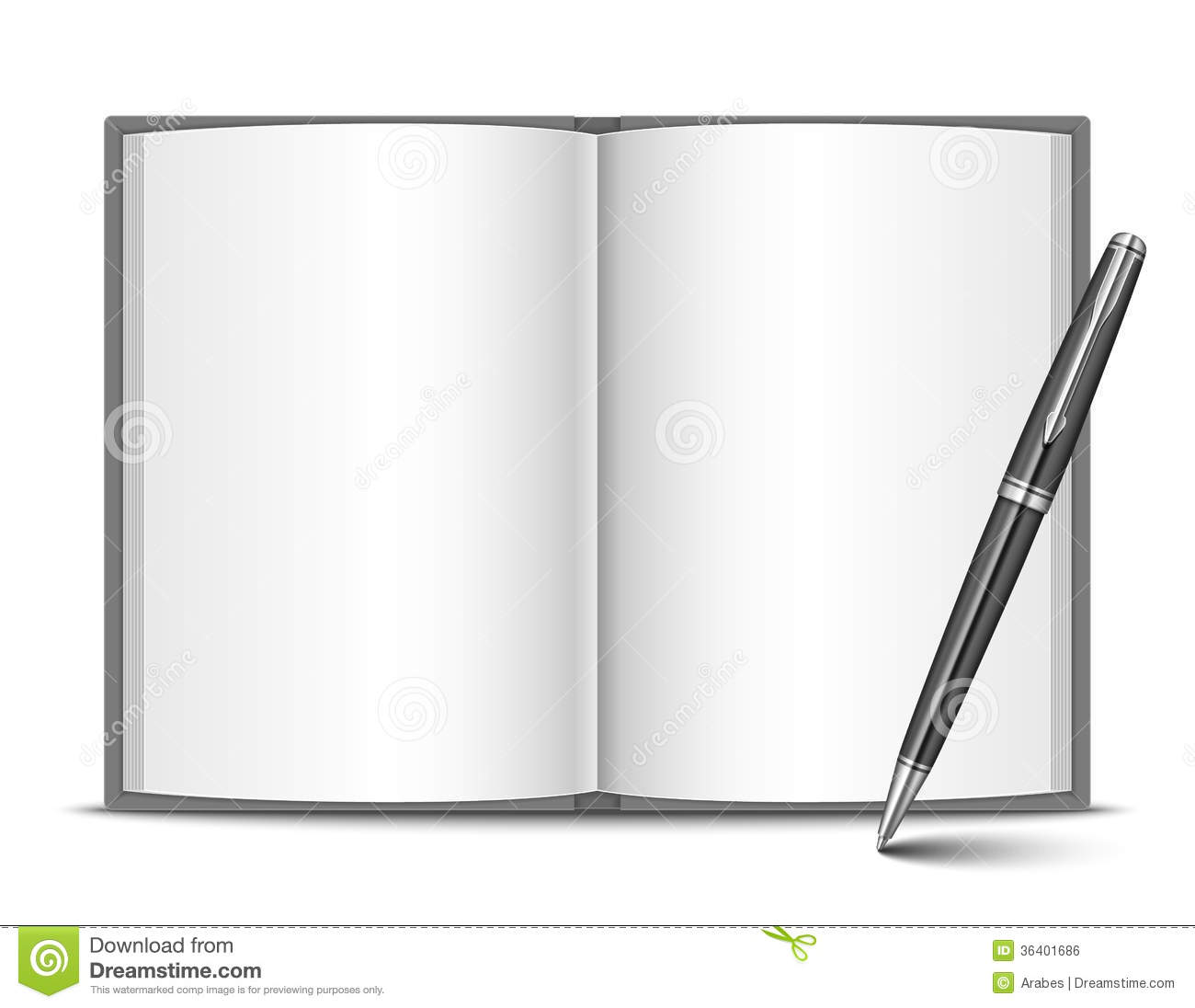 Book And Pen Royalty Free Stock Image - Image: 36401686