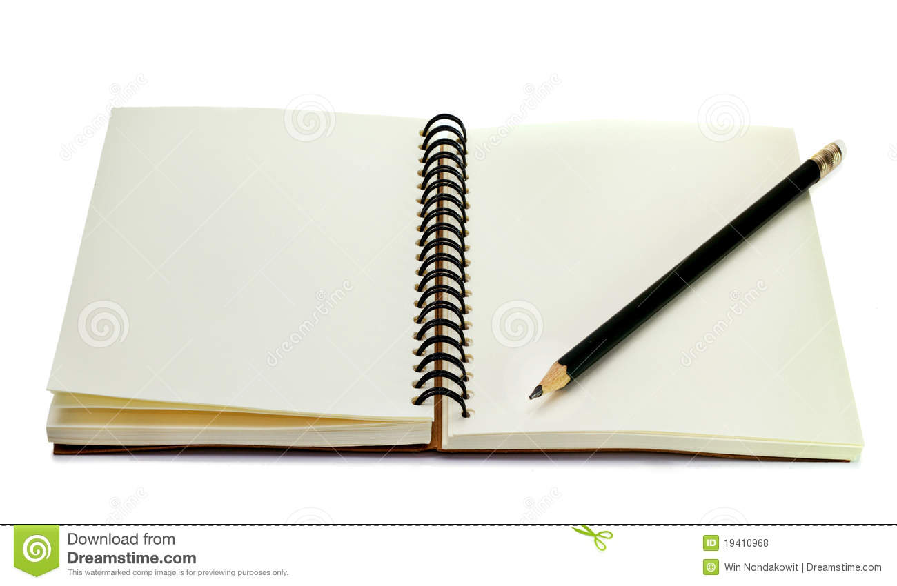 Book With Pencil Royalty Free Stock Photos Image 19410968