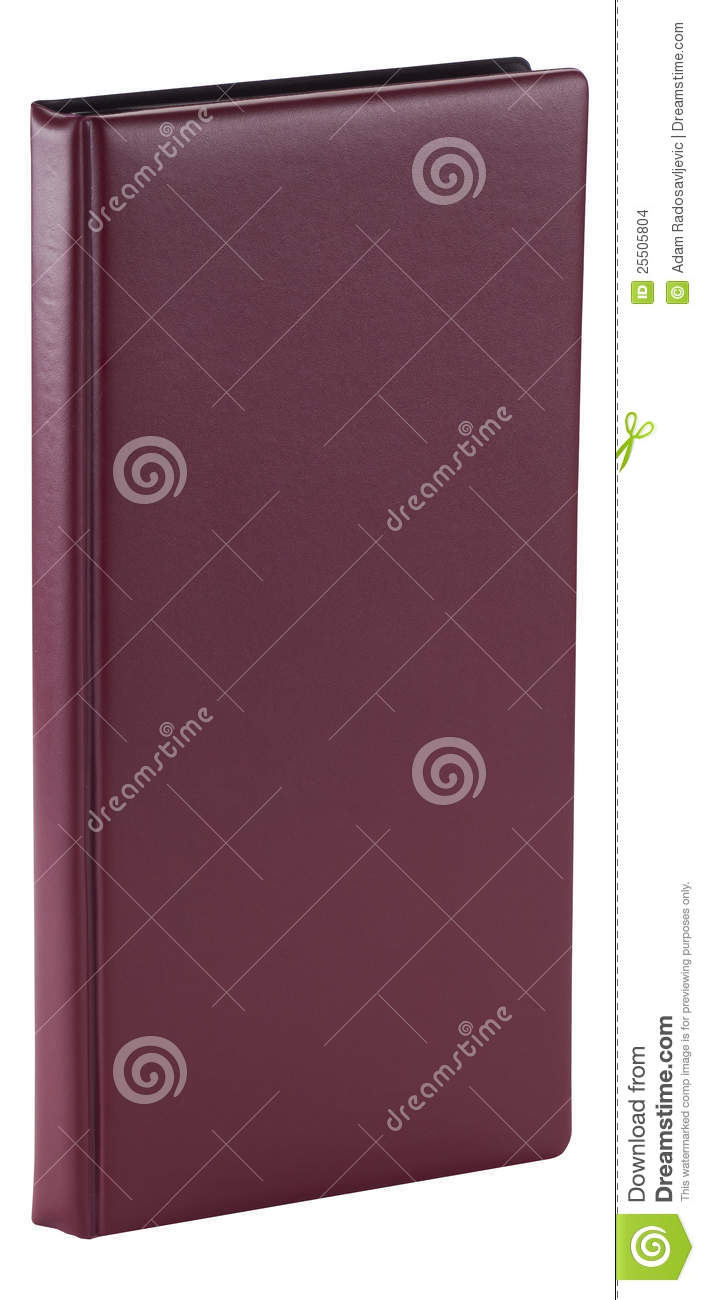 Book With Plain Cover Stock Images - Image: 25505804