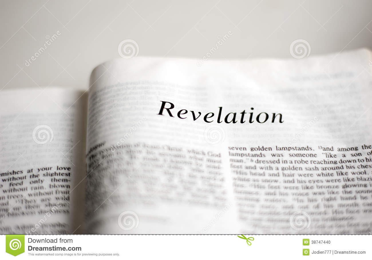 date of revelation writing a book