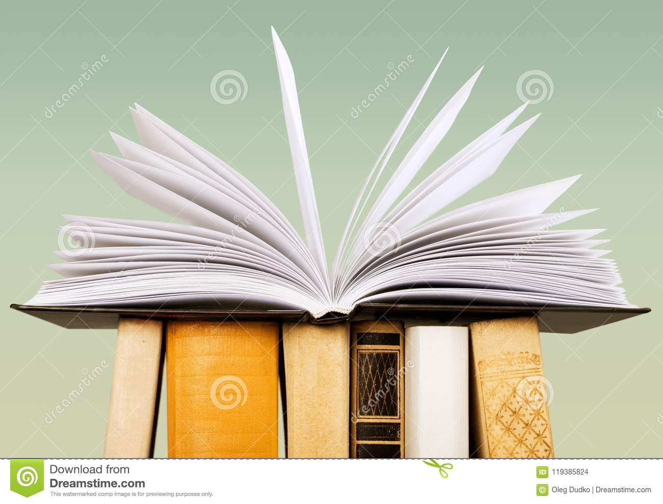 Book stock photo  Image of still, read, collage, arrangement
