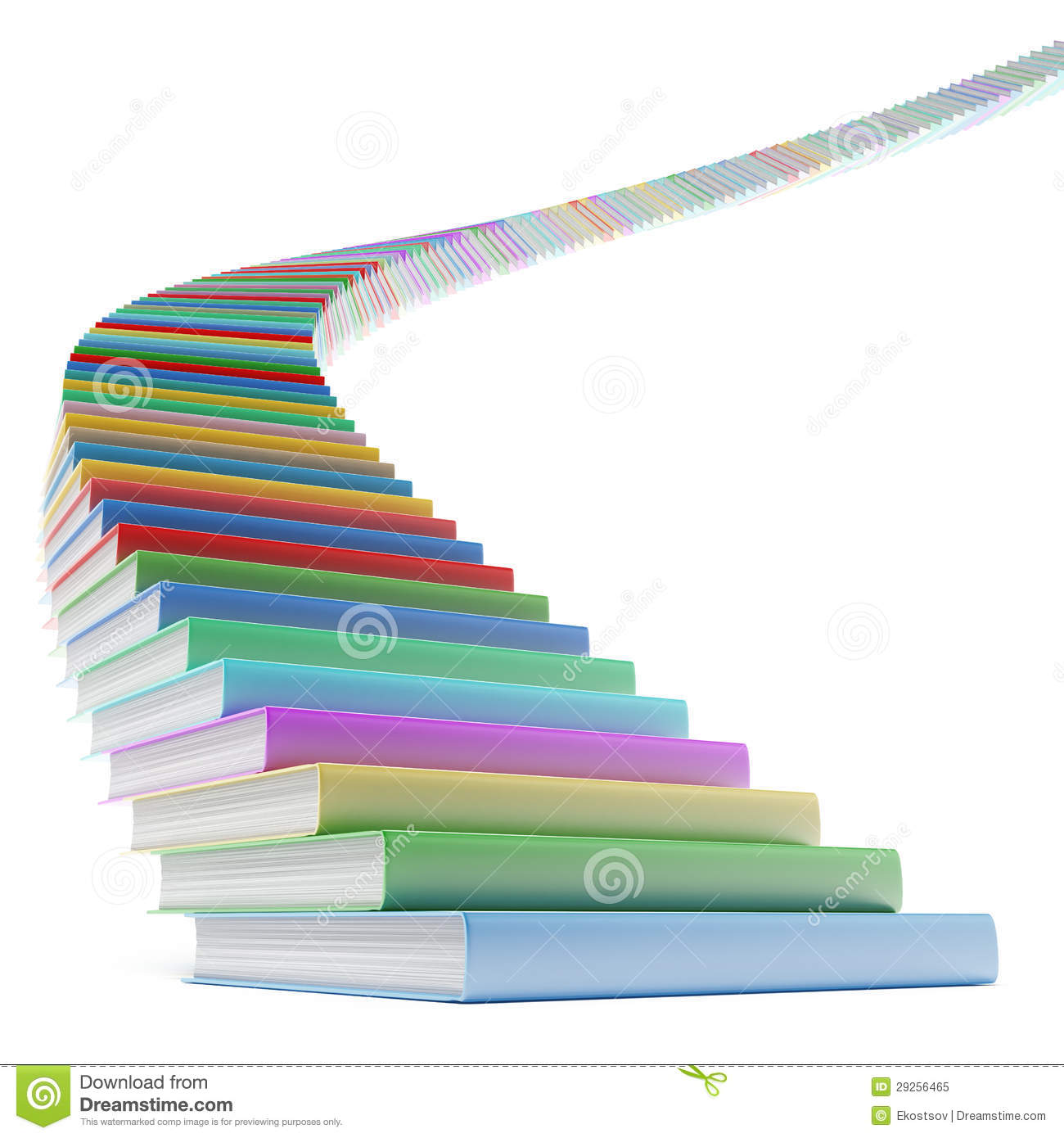 book stair royalty free stock photo   image 29256465
