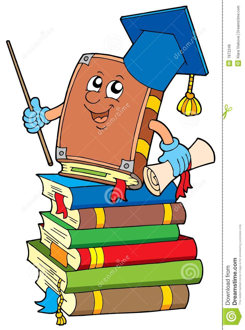 books teacher cartoon pile clipart illustration classroom royalty lector point drawings graphics illustrations graduate college preview clip murals washing worksheet