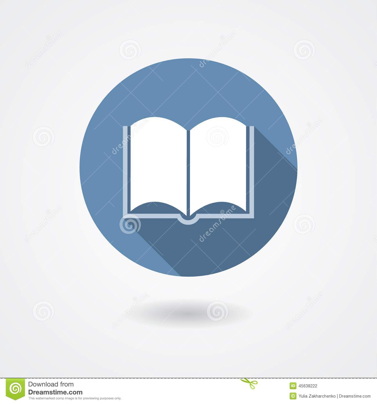 Book vector icon stock vector illustration of abstract for Vector canape user manual