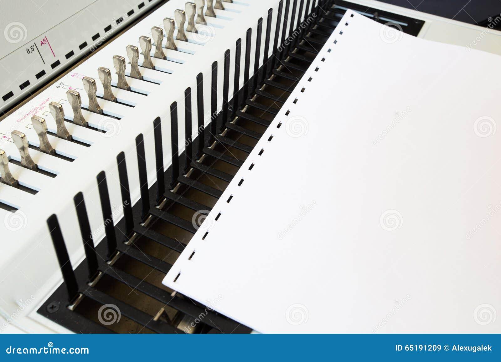 Bookbinding конторских машин