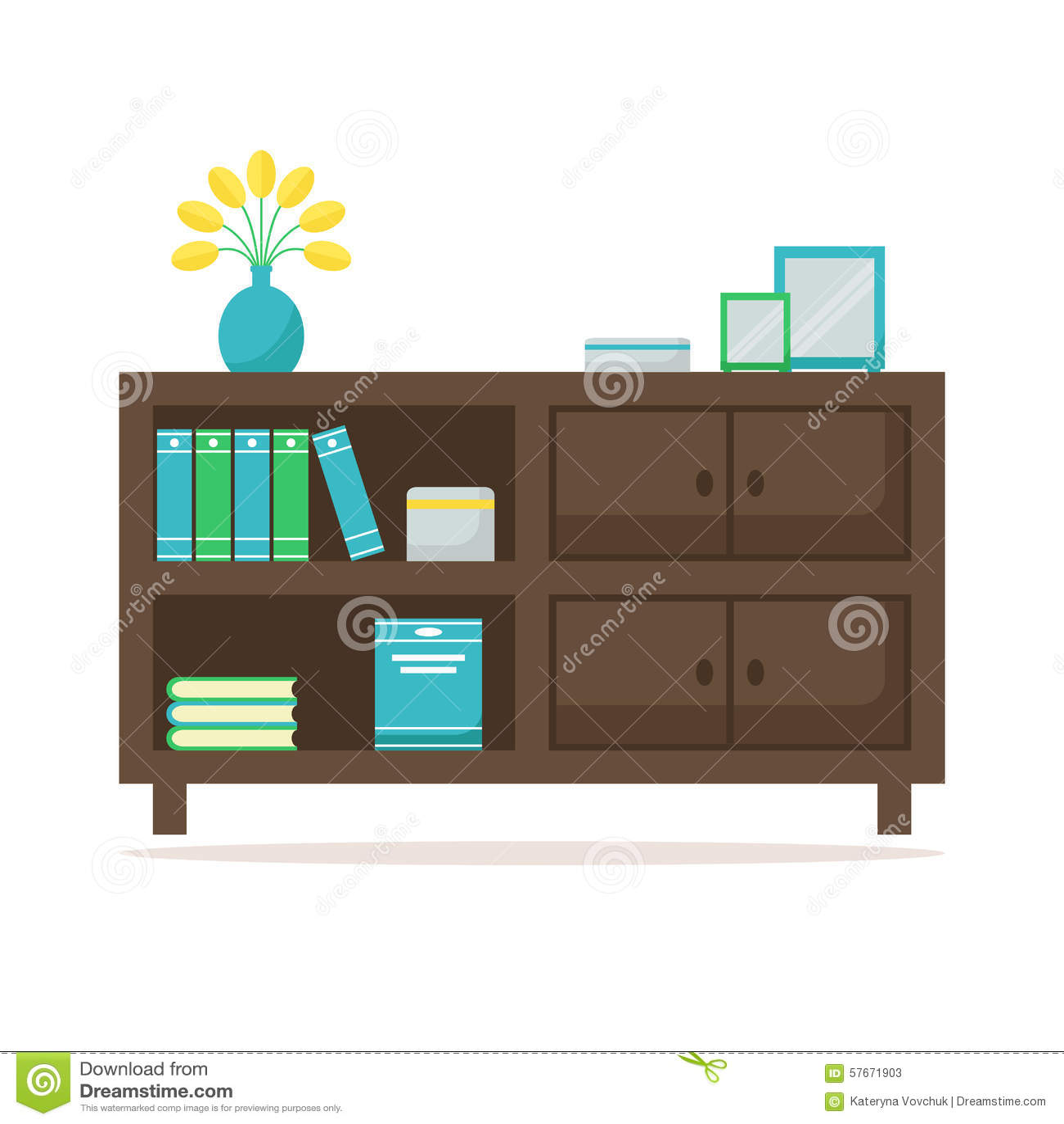 Bookcase ikona