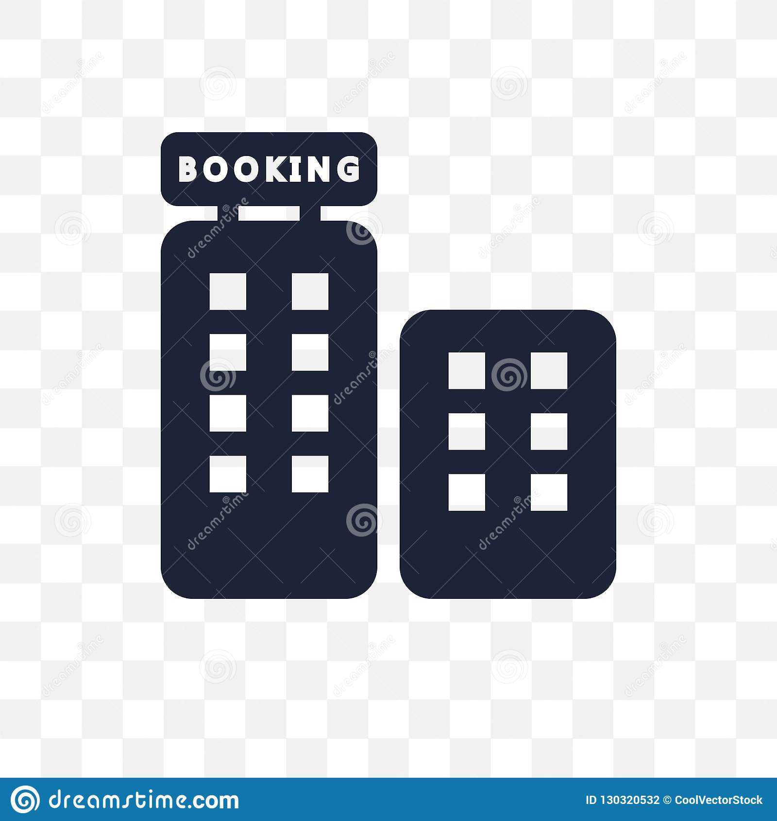 Booking Transparent Icon Booking Symbol Design From Hotel