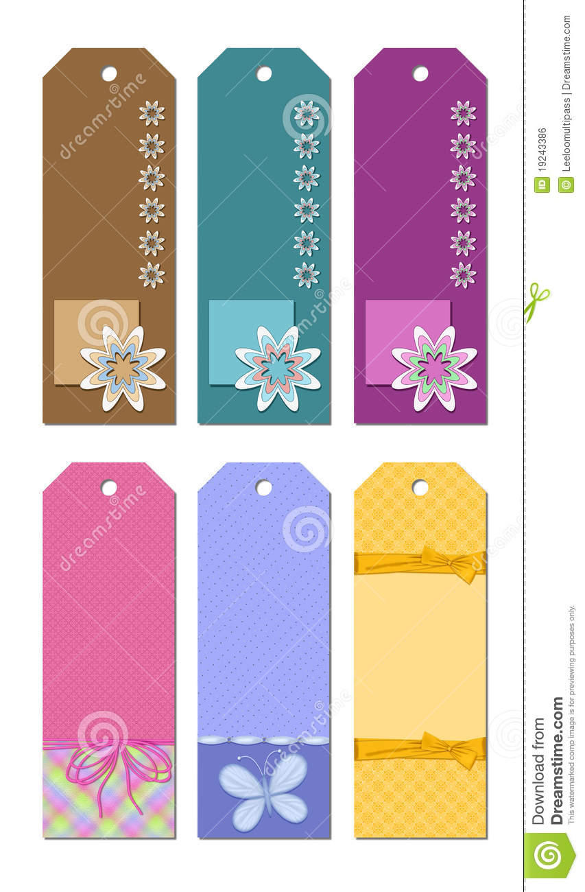 bookmark designs stock illustration image of butterfly 19243386