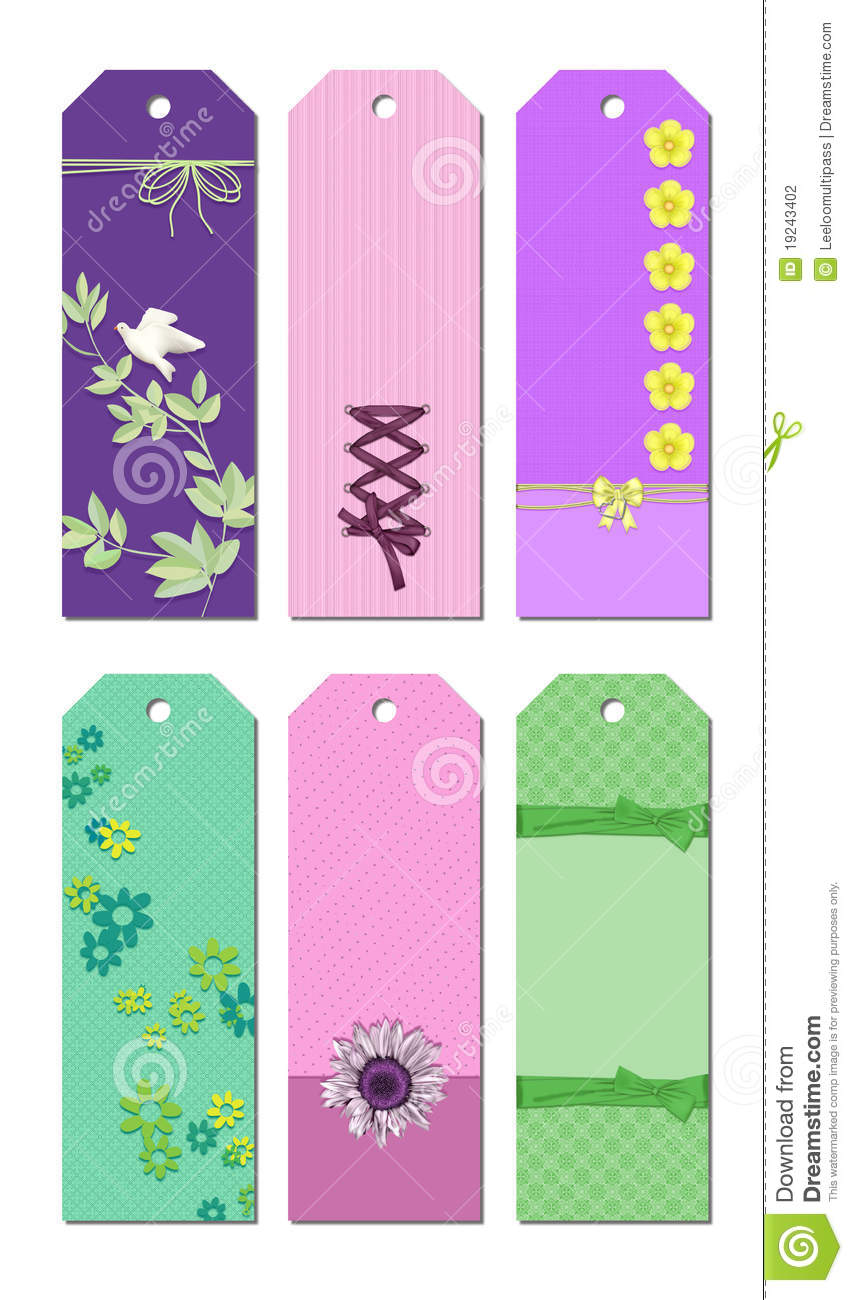 bookmark designs stock photography image 19243402