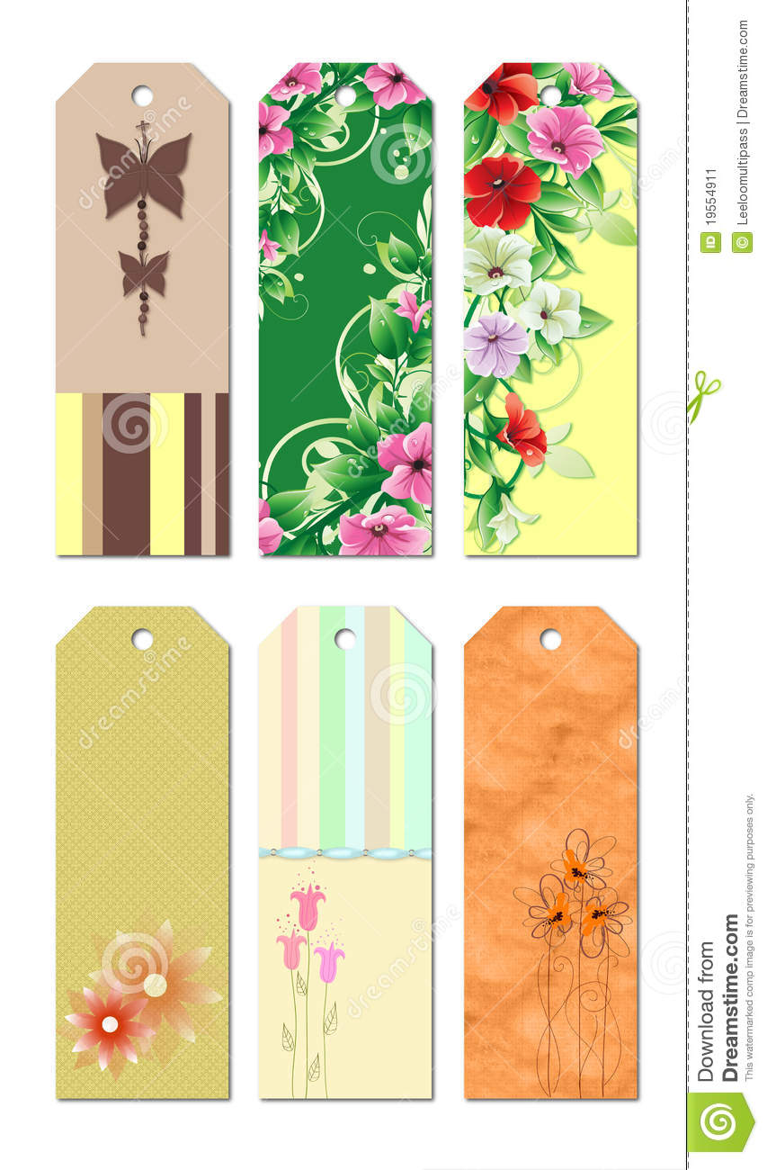 Bookmark Designs Stock Illustration Image Of Unique