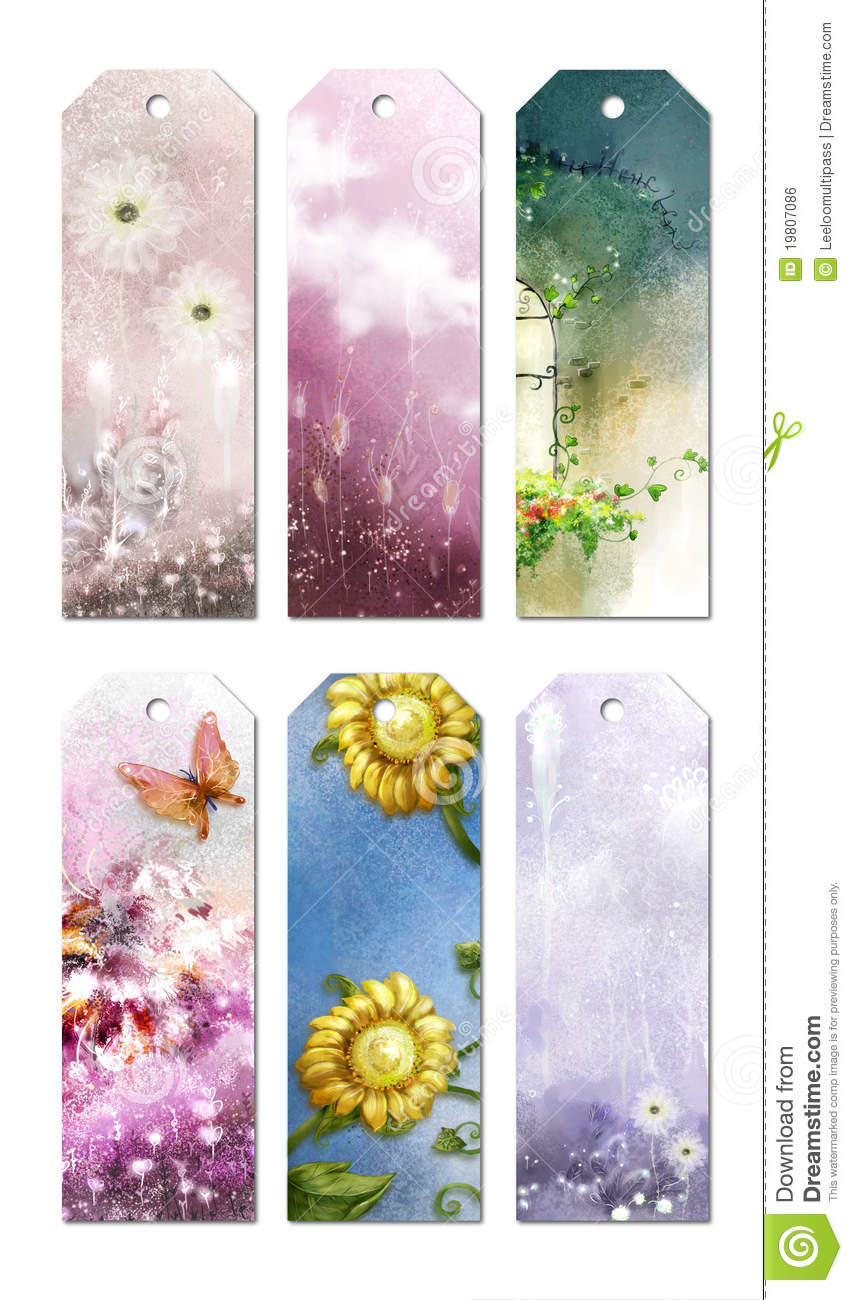 Bookmark Designs Royalty Free Stock Image Image 19807086