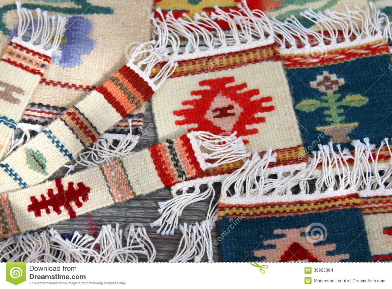bookmarks decorative handmade romanian rugs - Decorative Rugs