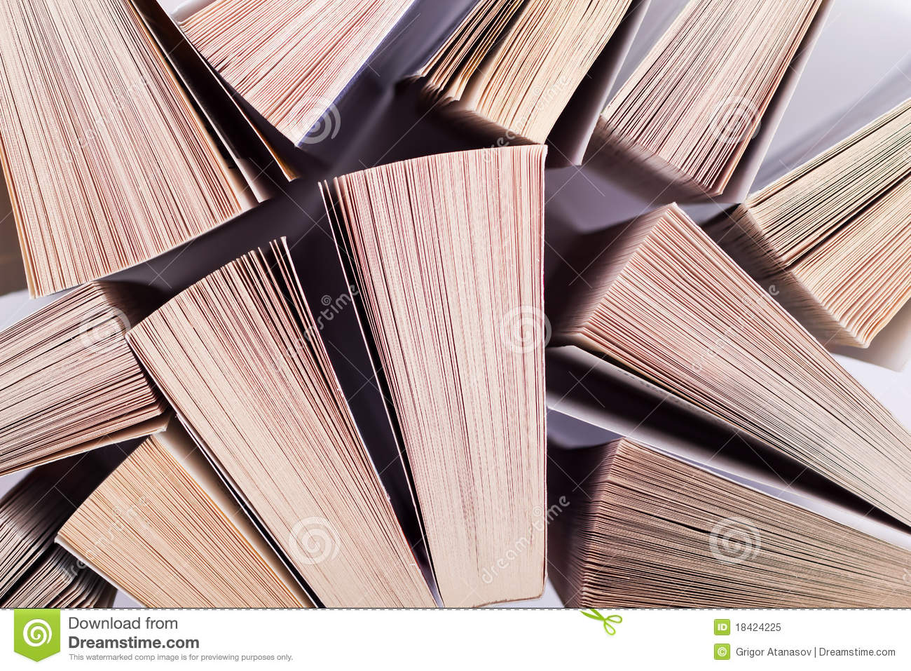 Download Books stock image. Image of background, collection, above - 18424225