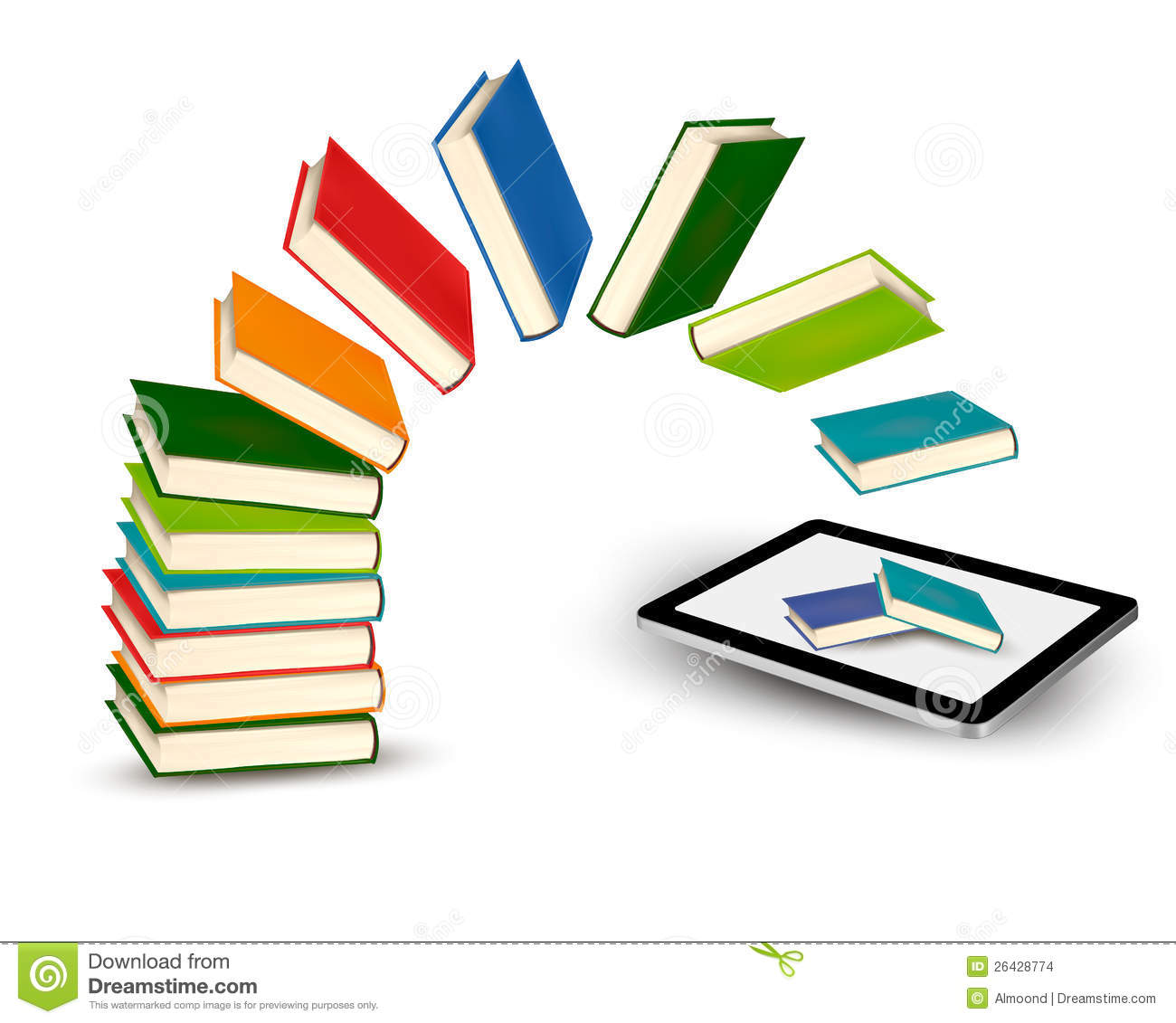 how to download books to tablet for free