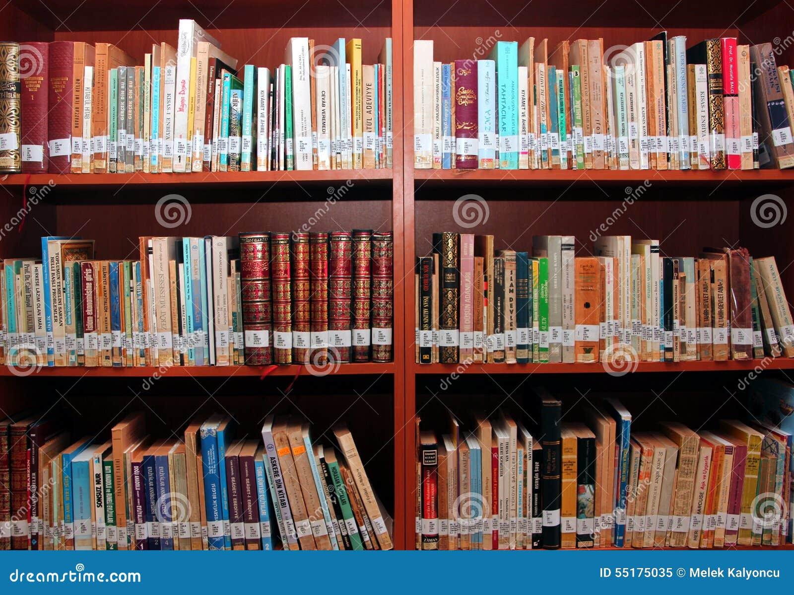 Books In Library Editorial Image Of Bibliomania
