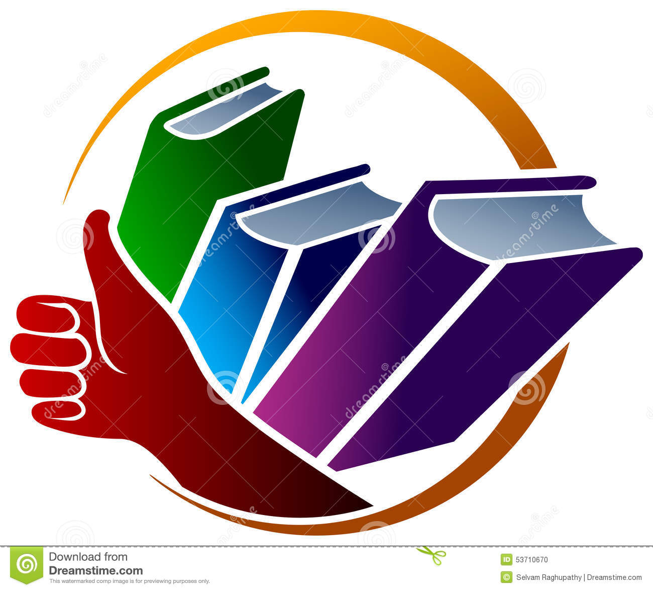 Books Logo Stock Vector - Image: 53710670