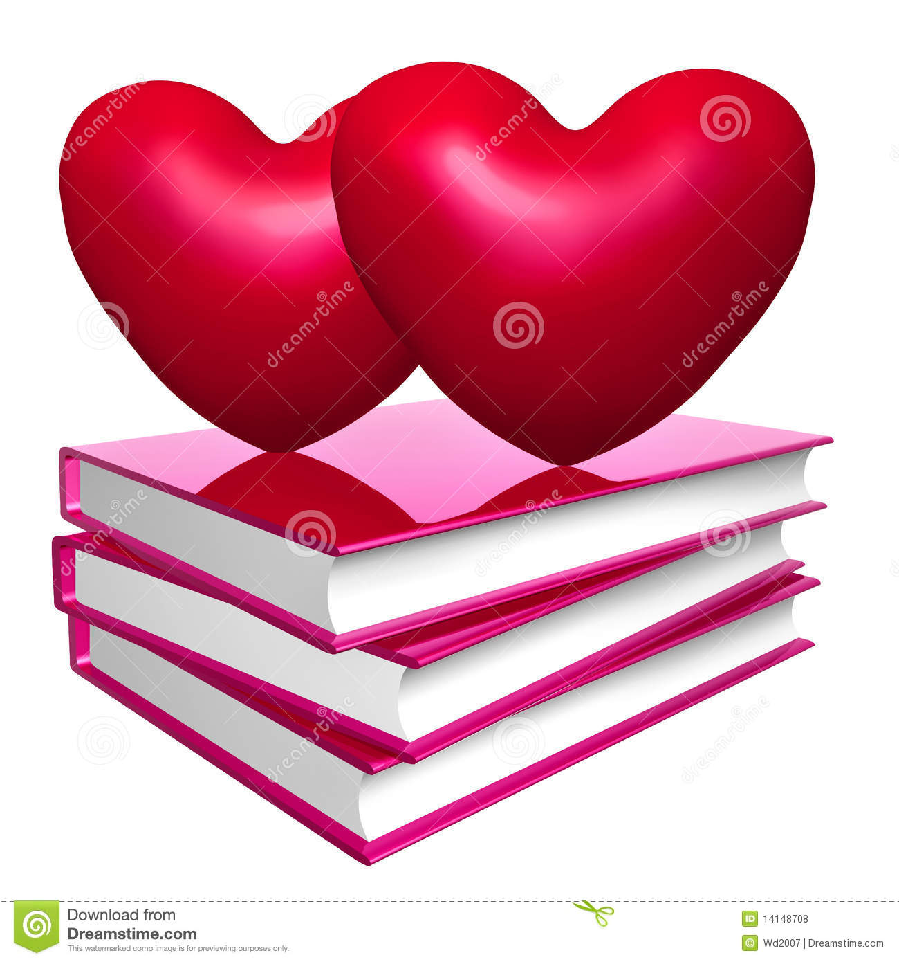 books about love marriage and romance icon symbol stock
