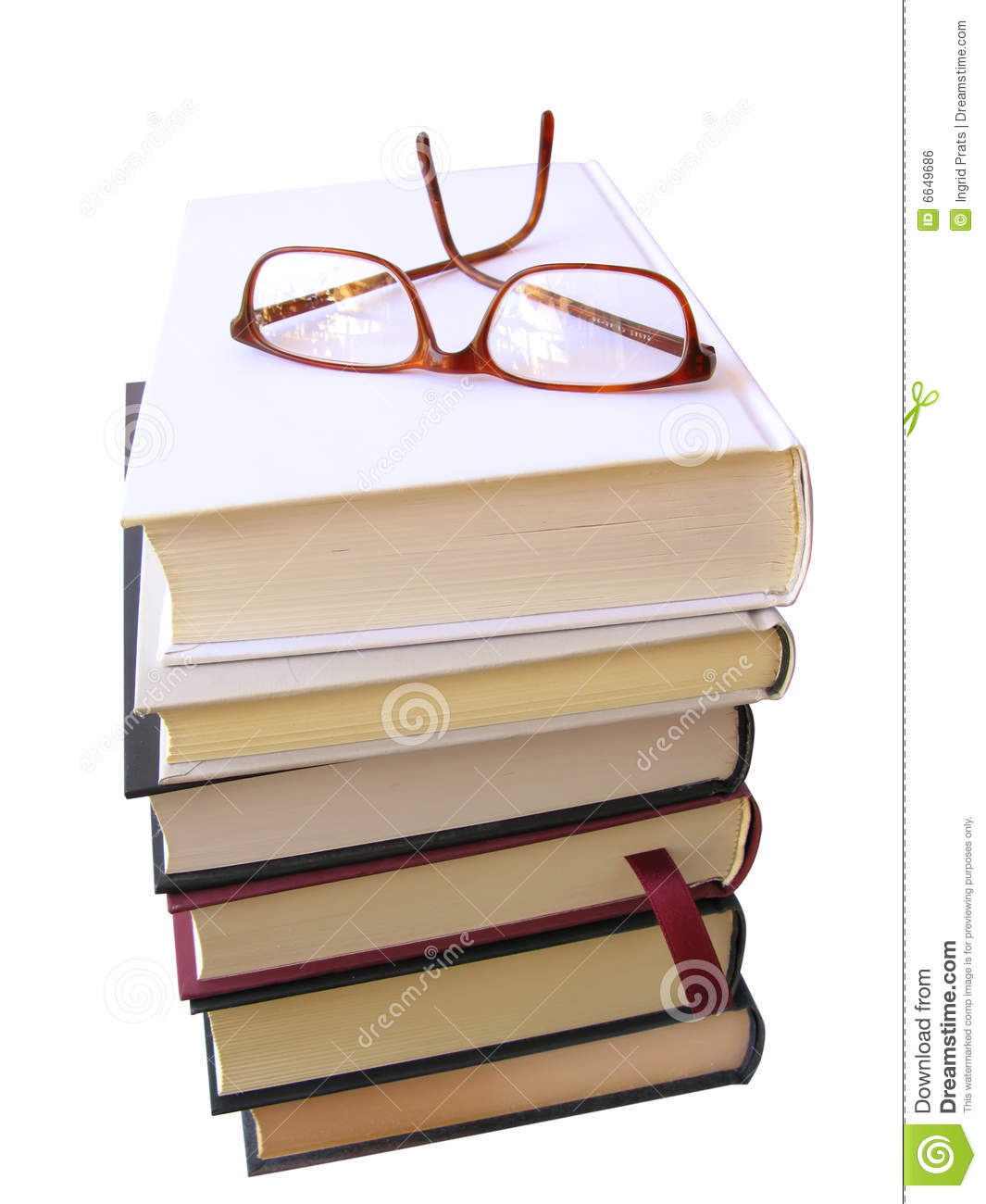 glasses on book - photo #33