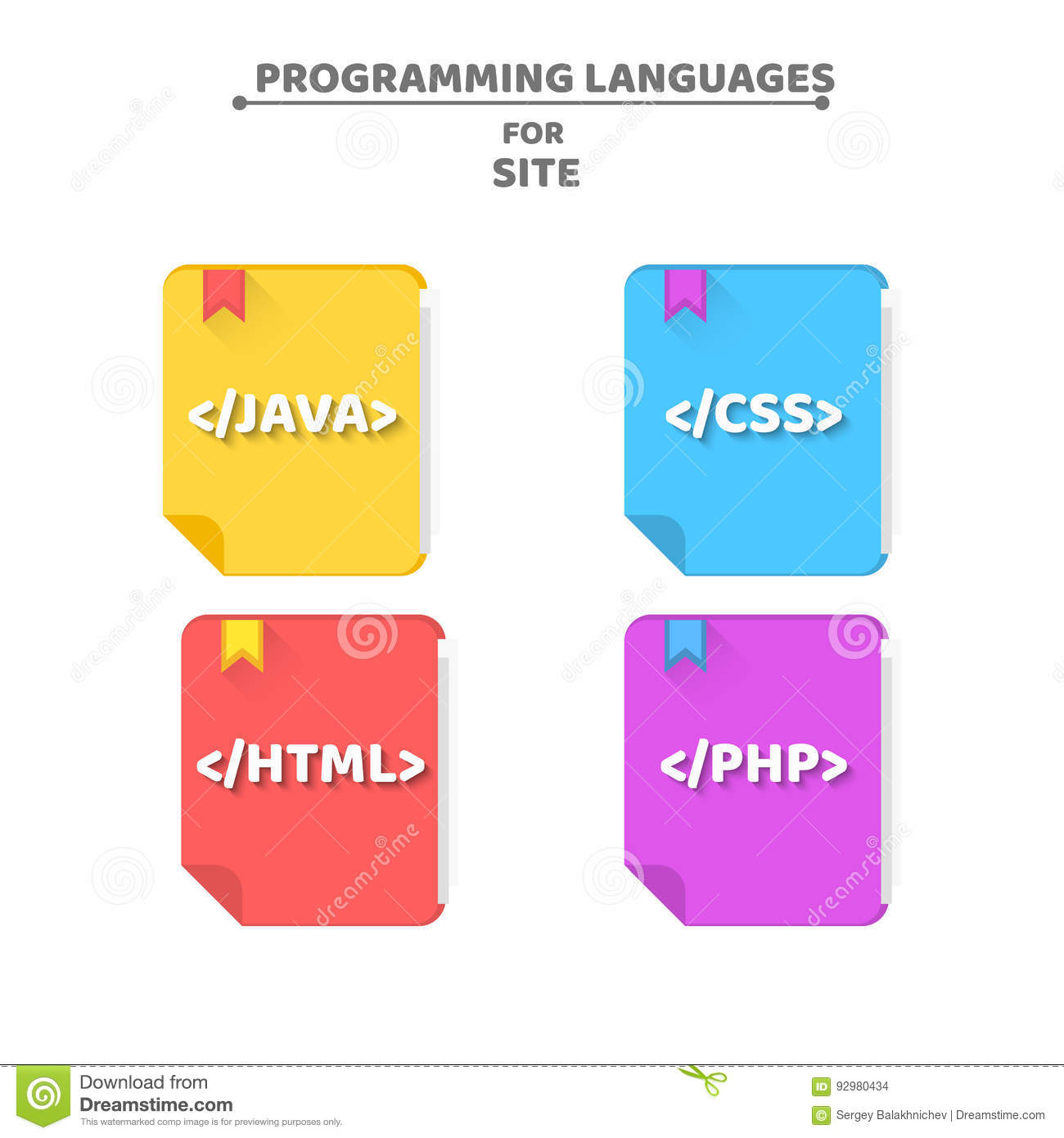 Books On Programming Languages  The Falling Shadow  Java, Php, Html