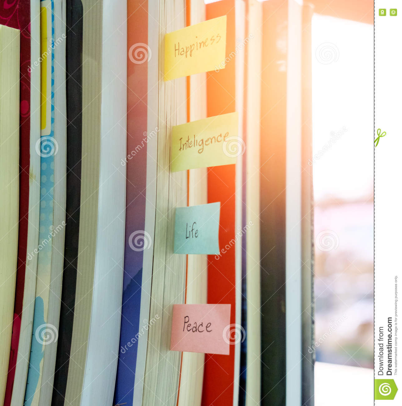 books are sort arranged category happiness