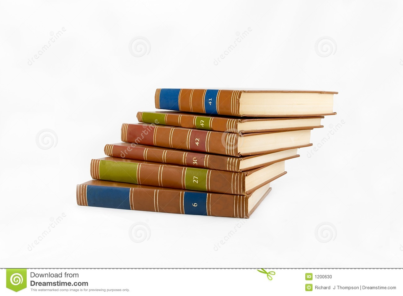 Books Stacked