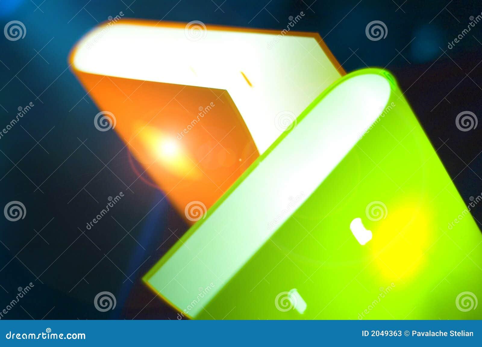 Bookshaped świateł