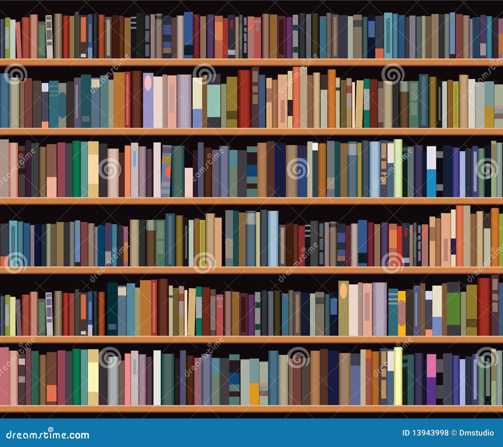 Bookshelf Royalty Free Stock Photos - Image: 13943998