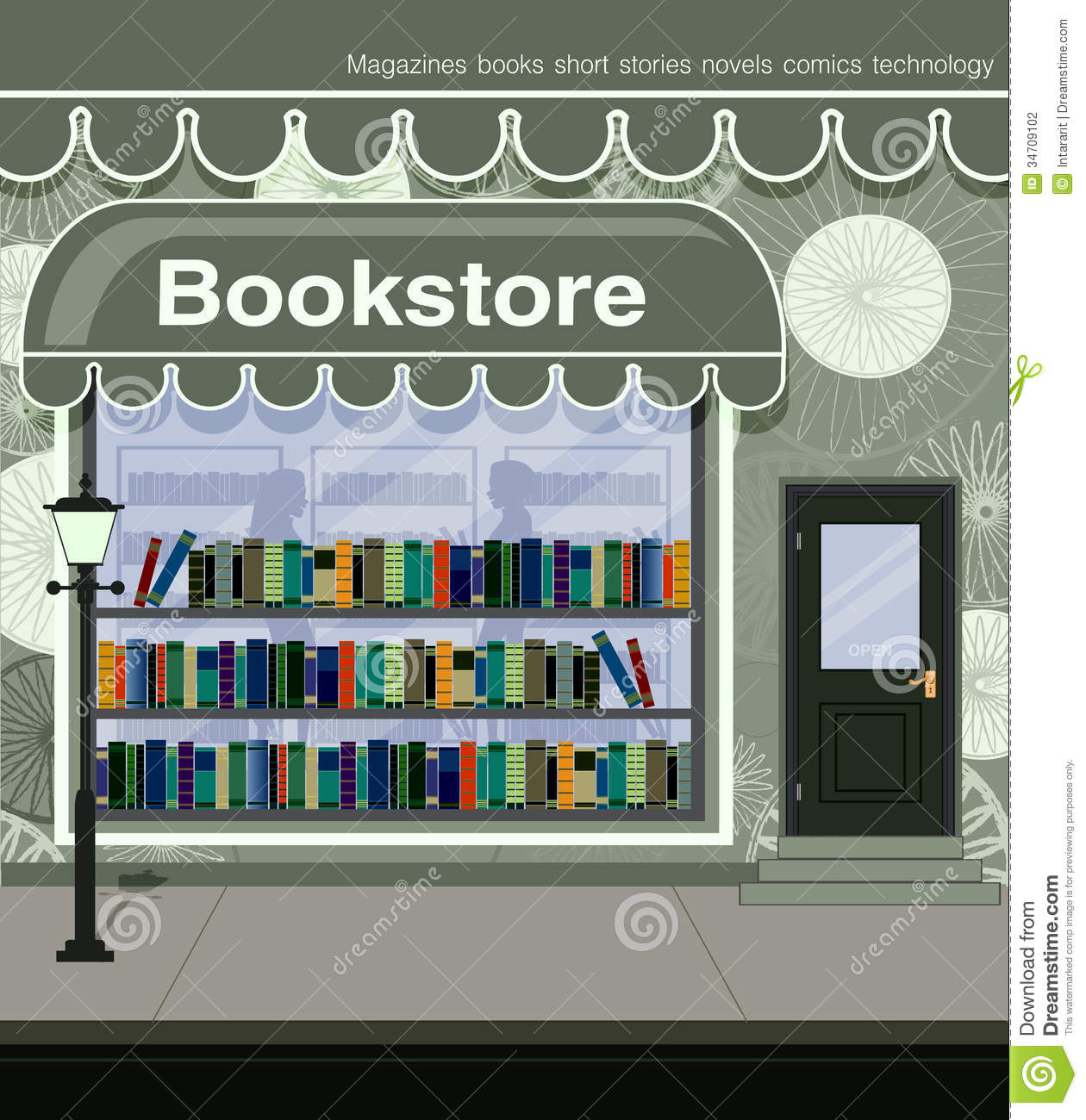 Bookstore Stock Photography - Image: 34709102