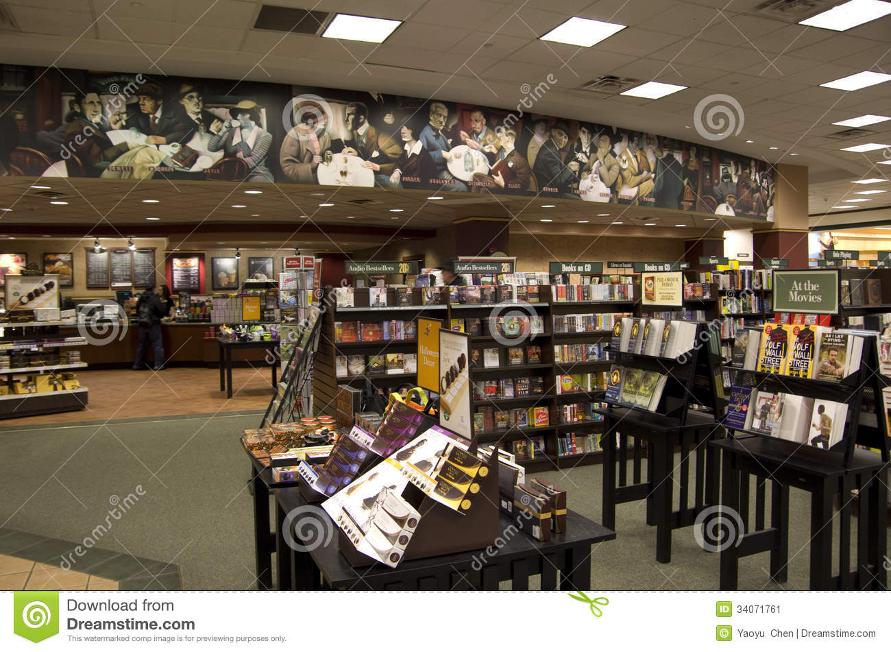 Bookstore editorial photo. Image of light, design, book - 34071761