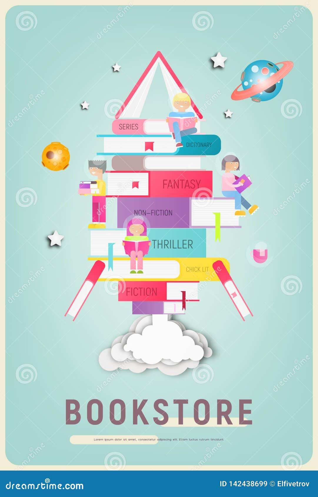 Bookstore plakat