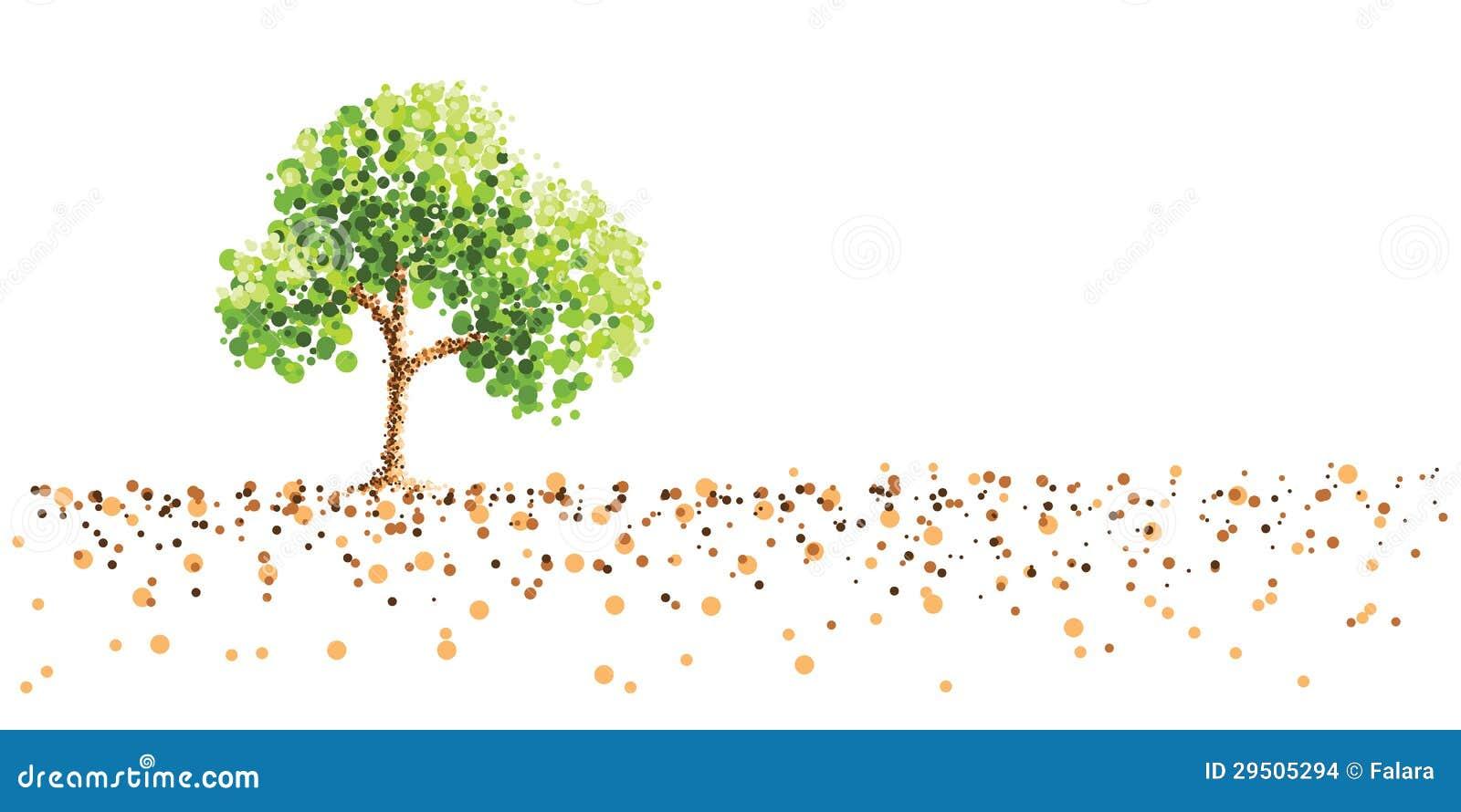 Boom en grond